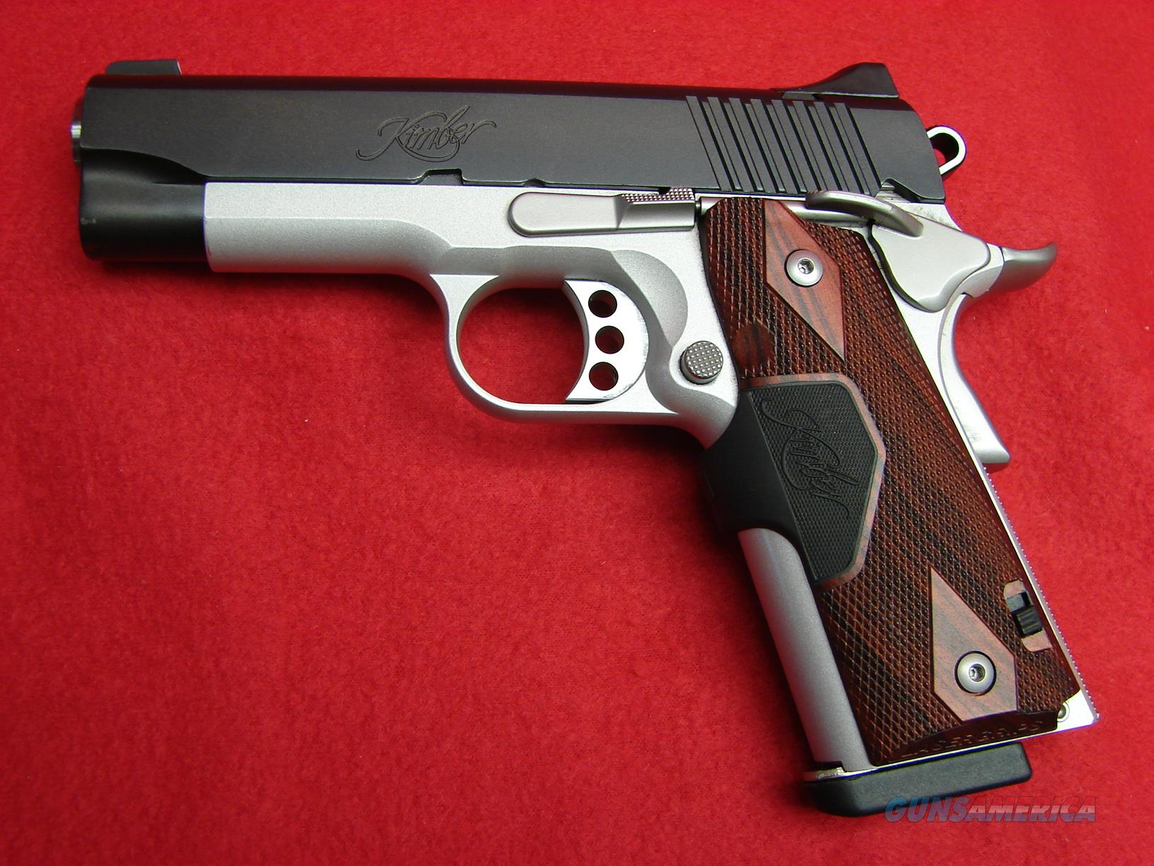 Kimber Pro Crimson Carry II - 1911 - 45acp - w/Crimson Trace Laser - Two-Tone - Used  Guns > Pistols > Kimber of America Pistols > 1911