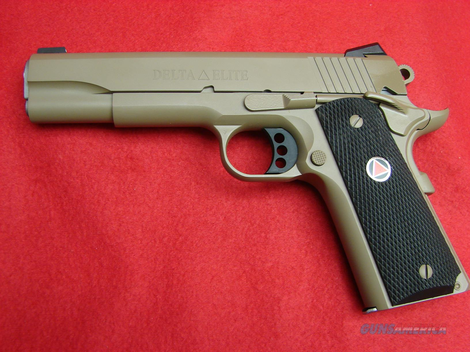 "Colt 1911 Delta Elite in ""Full Dark Earth"" Finish - 45acp - NIB  Guns > Pistols > Colt Automatic Pistols (1911 & Var)"