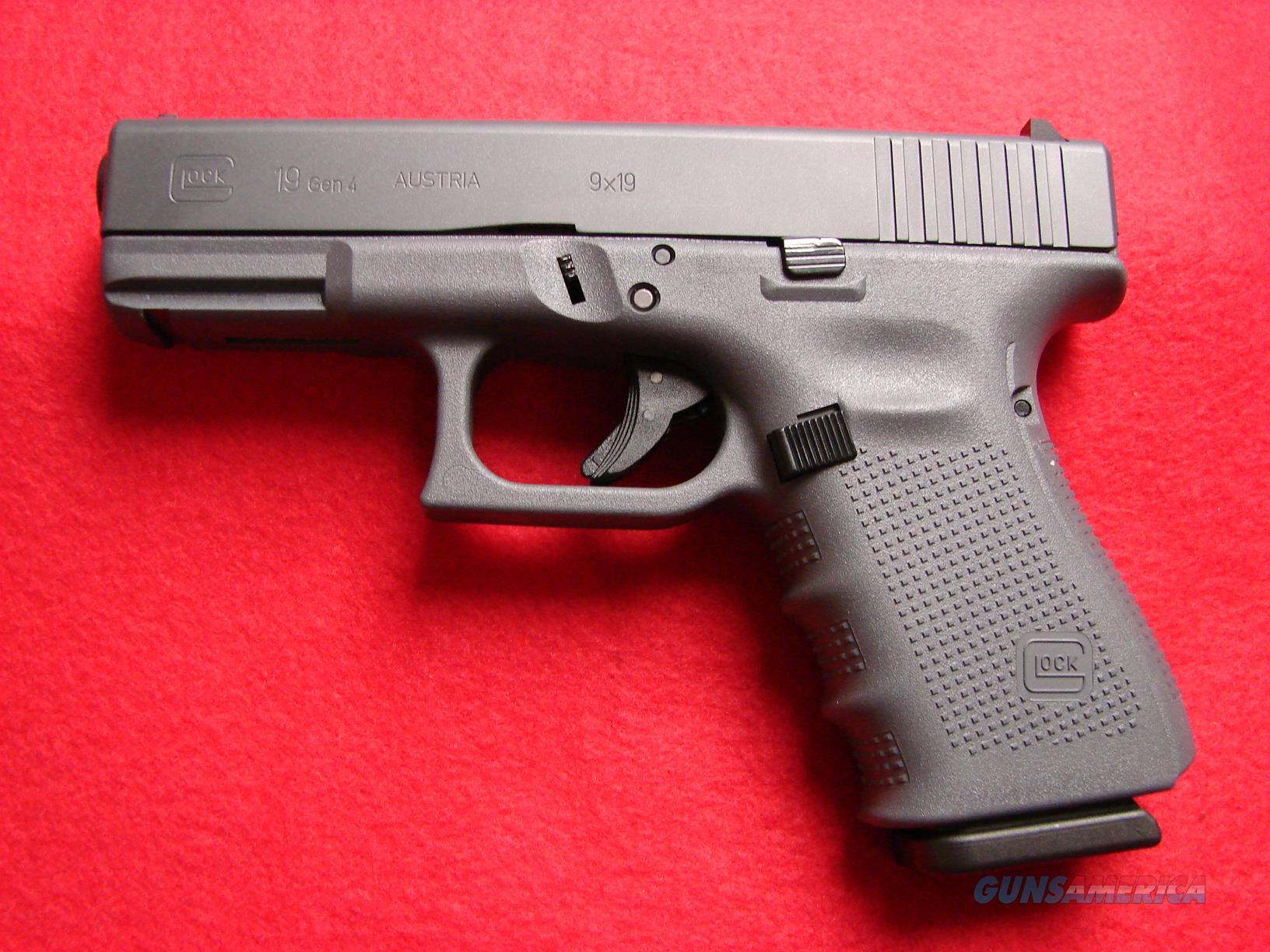 Glock Model 19 - 9mm - Gen 4 - Full Grey Finish - NIB  Guns > Pistols > Glock Pistols > 19/19X