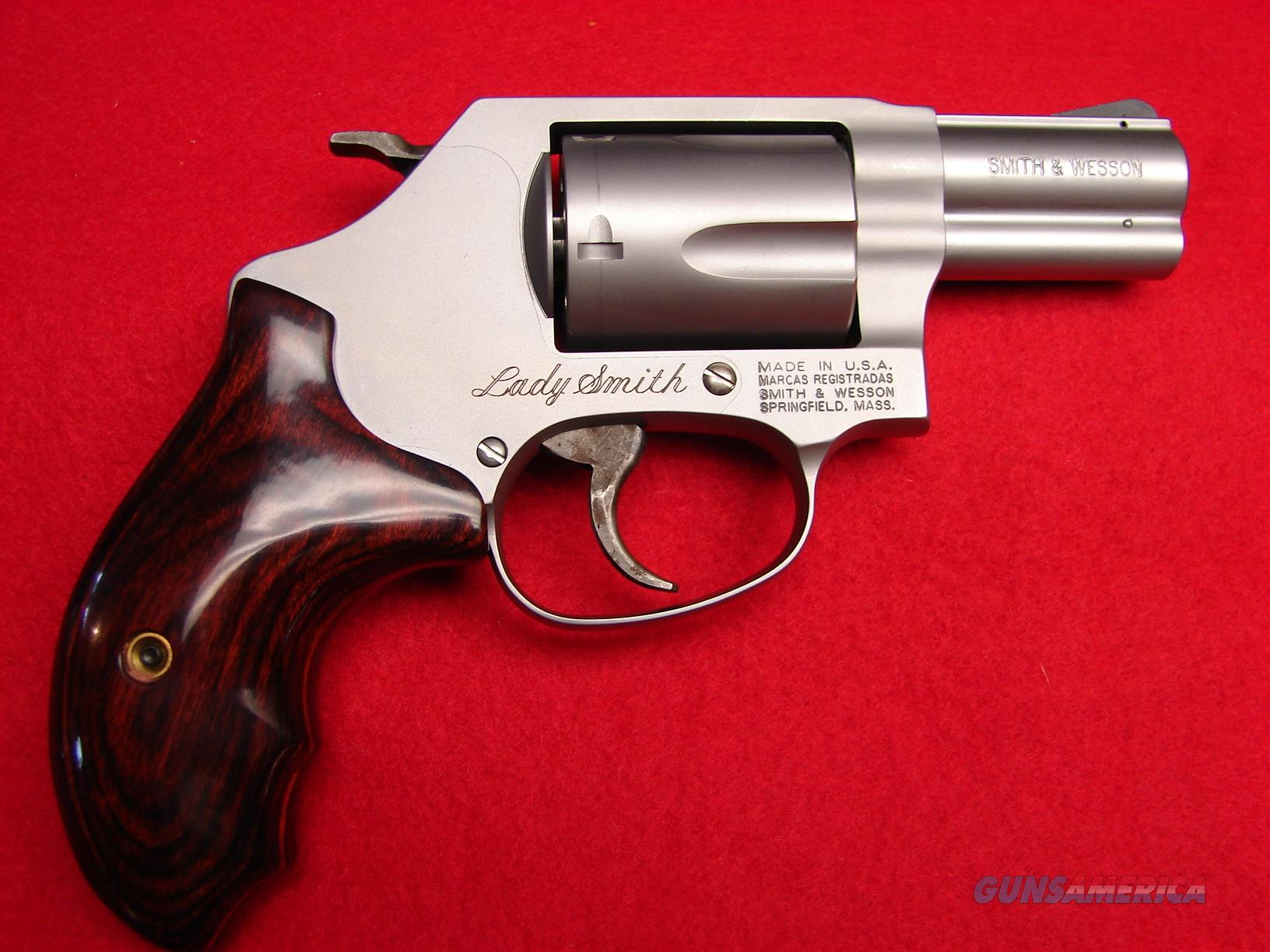 "Smith & Wesson Model 60 LS - ""Lady Smith"" 357 mag - J-Frame - Stainless - Rosewood Grips - NIB  Guns > Pistols > Smith & Wesson Revolvers > Small Frame ( J )"