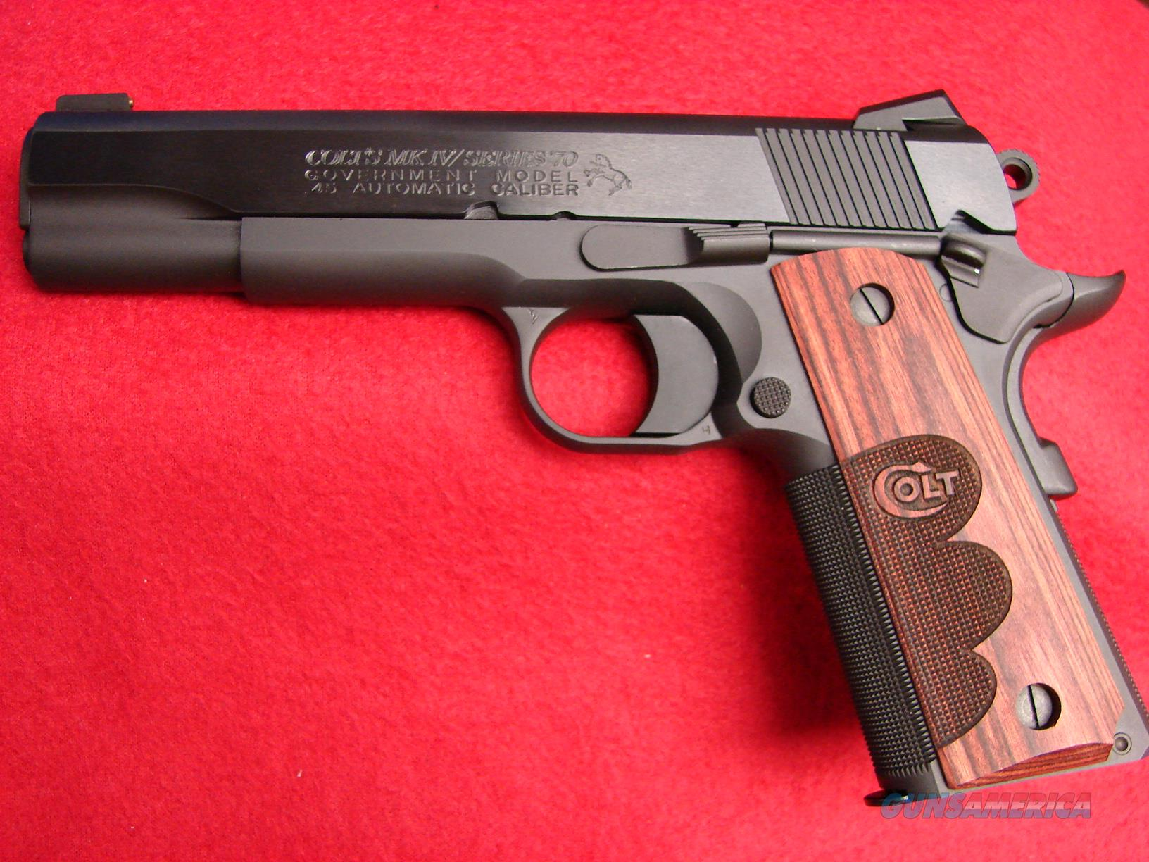 Colt MK IV - Series 70 Government - 45acp - Wiley Clapp Talo Edition - National Match - NIB  Guns > Pistols > Colt Automatic Pistols (1911 & Var)