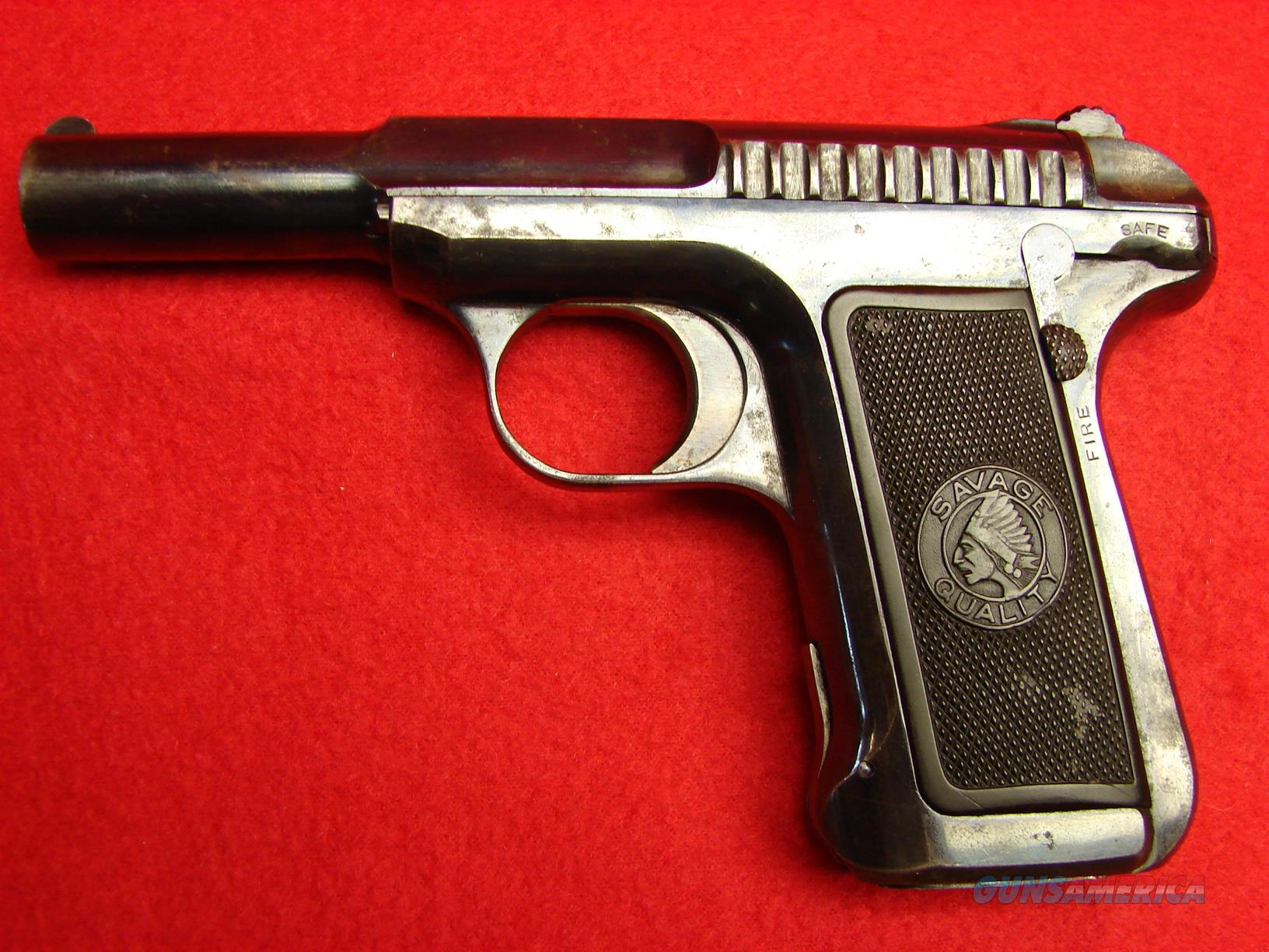 Savage Model 1905 Semi-Automatic Pistol - 32acp - Great Shooter!  Guns > Pistols > Savage Pistols
