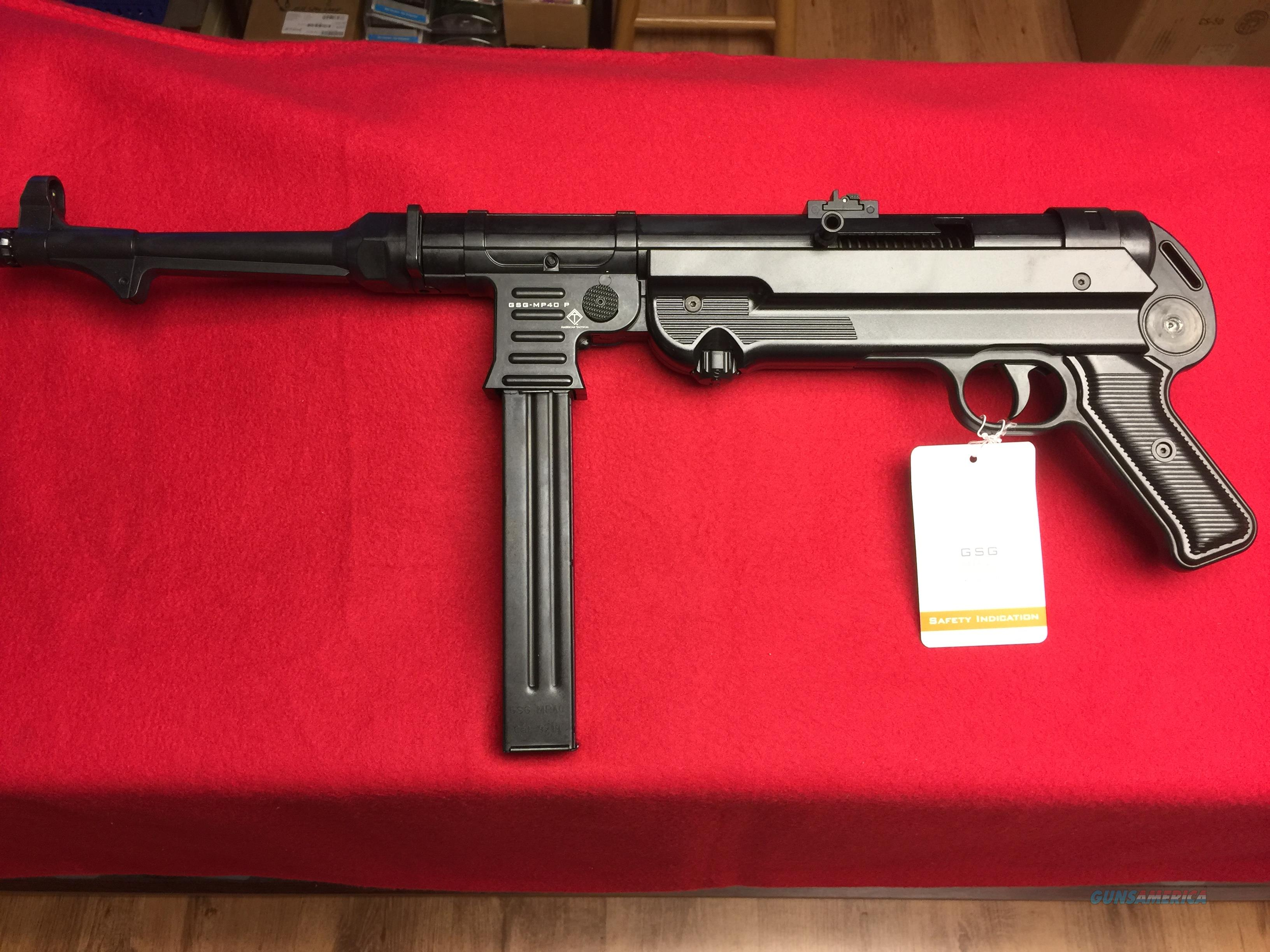 ATI - GSG MP 40P - 9mm  - New in the Box  Guns > Pistols > G Misc Pistols