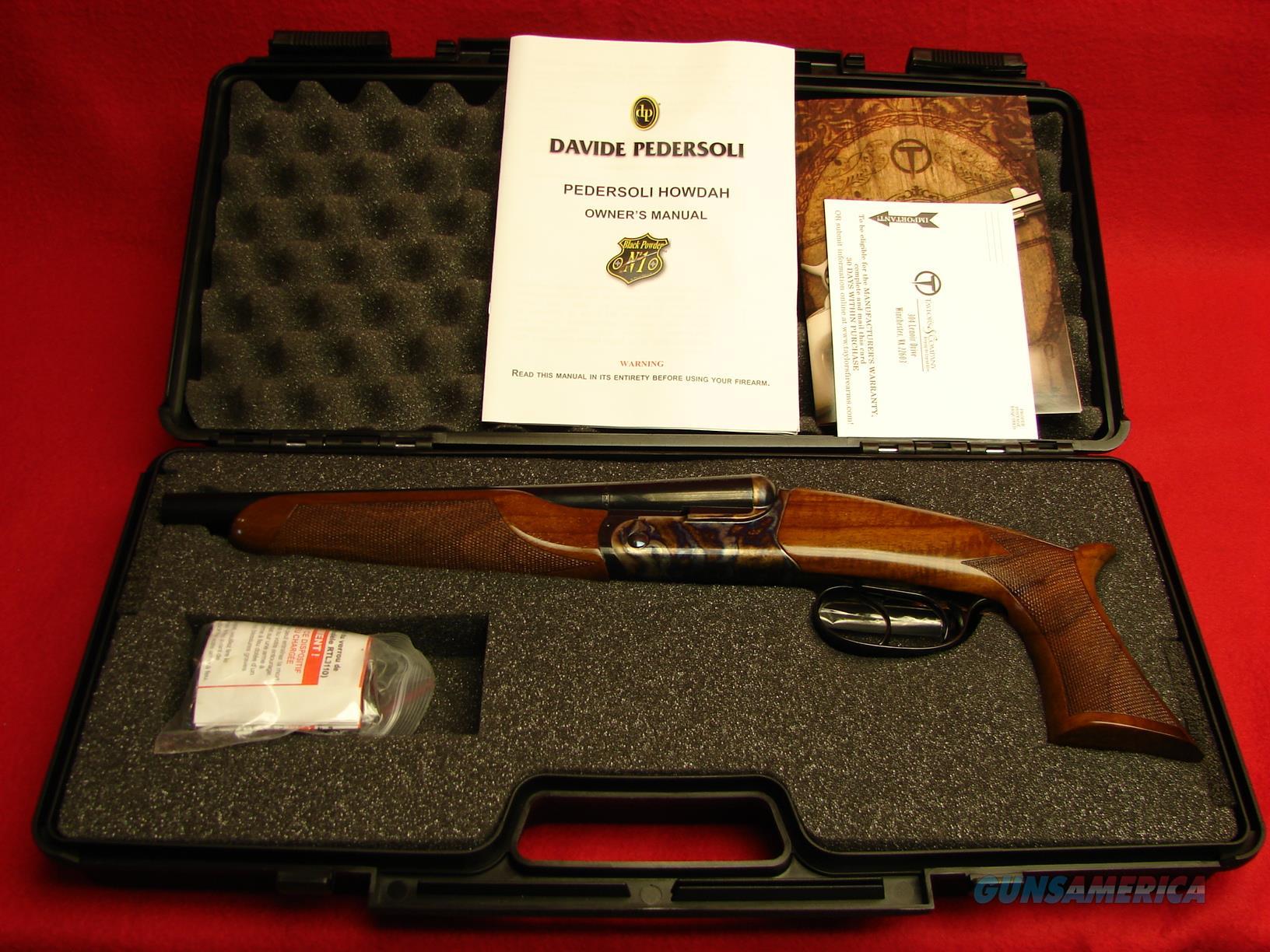 break action howdah pistol pedersoli lc double 410ga userimages