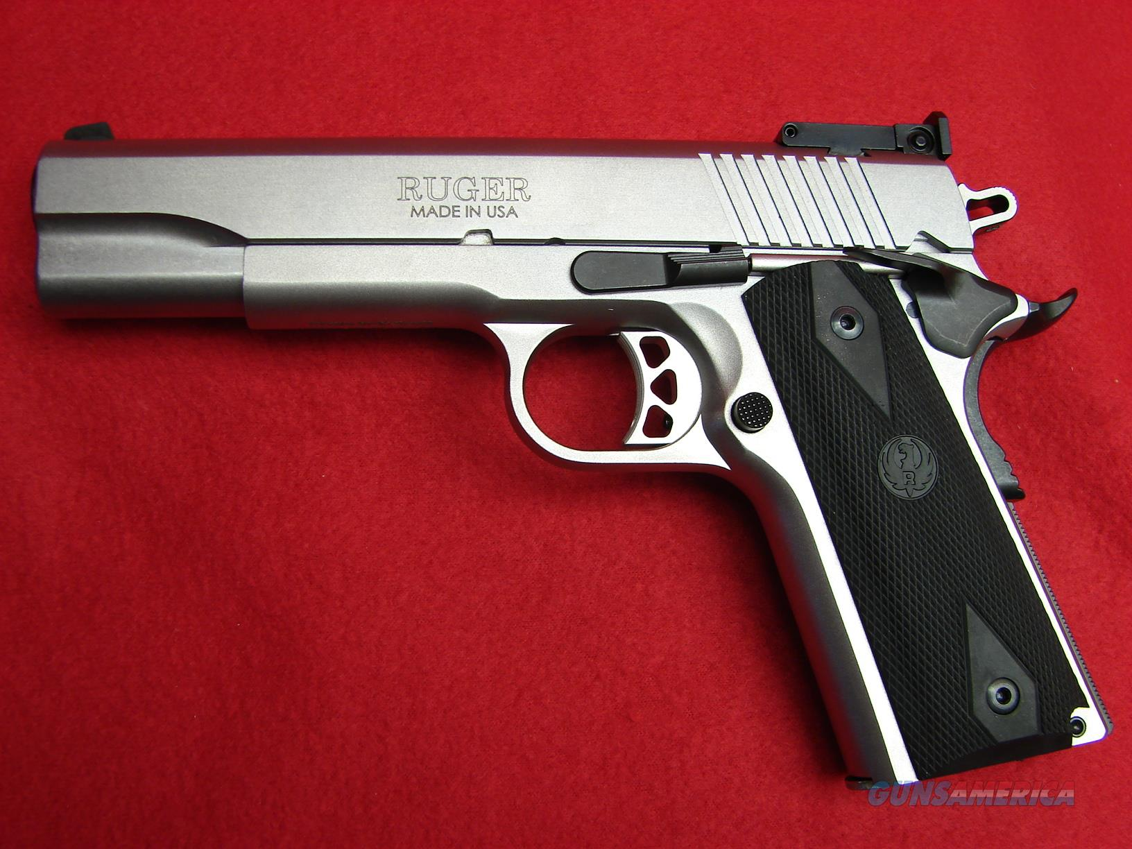 Ruger SR1911 - 10mm - Stainless Steel - NIB   Guns > Pistols > Ruger Semi-Auto Pistols > 1911