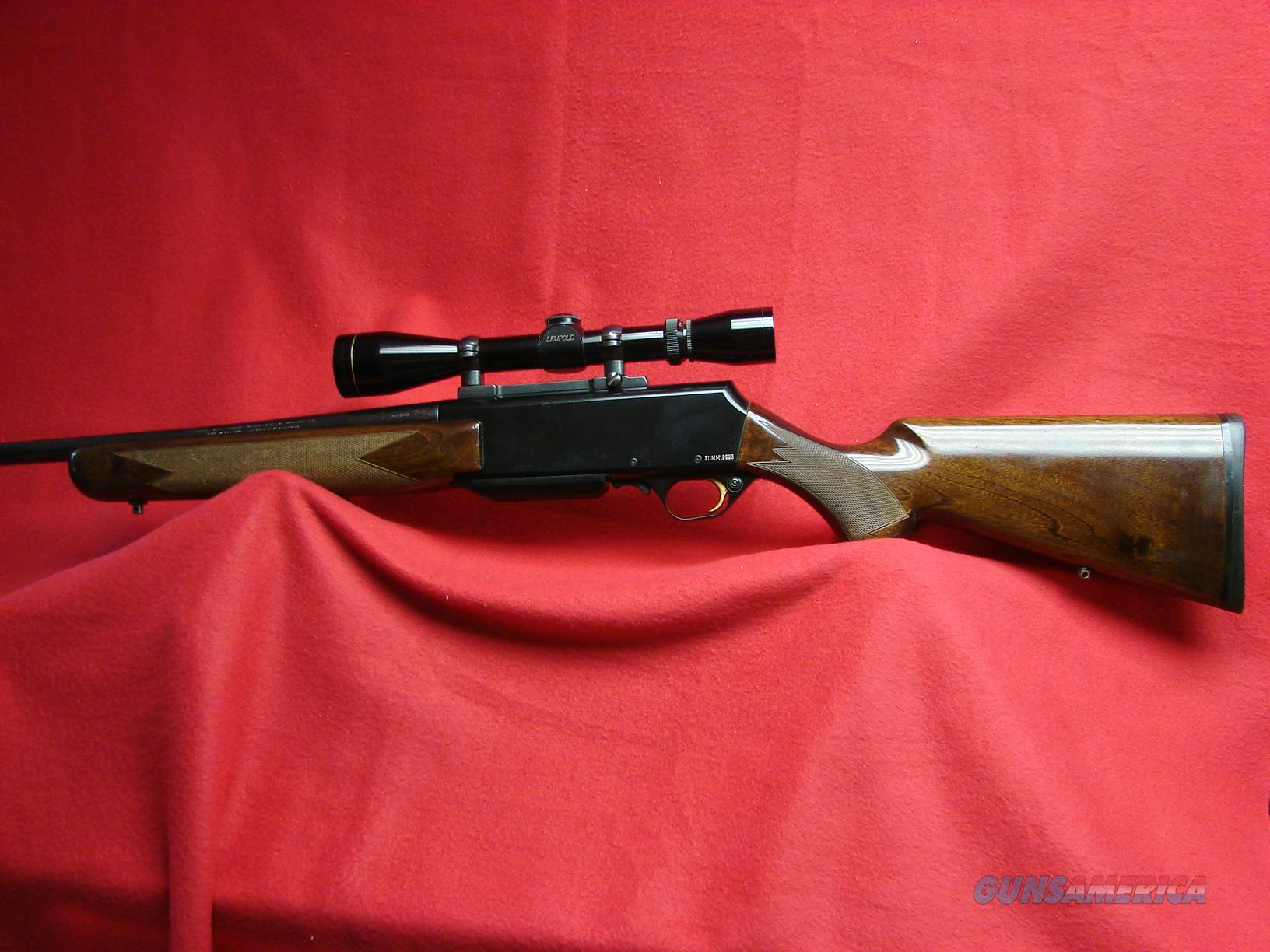 Browning BAR - 7mm Magnum - w/3x9x40 Leupold Scope - Used  Guns > Rifles > Browning Rifles > Semi Auto > Hunting