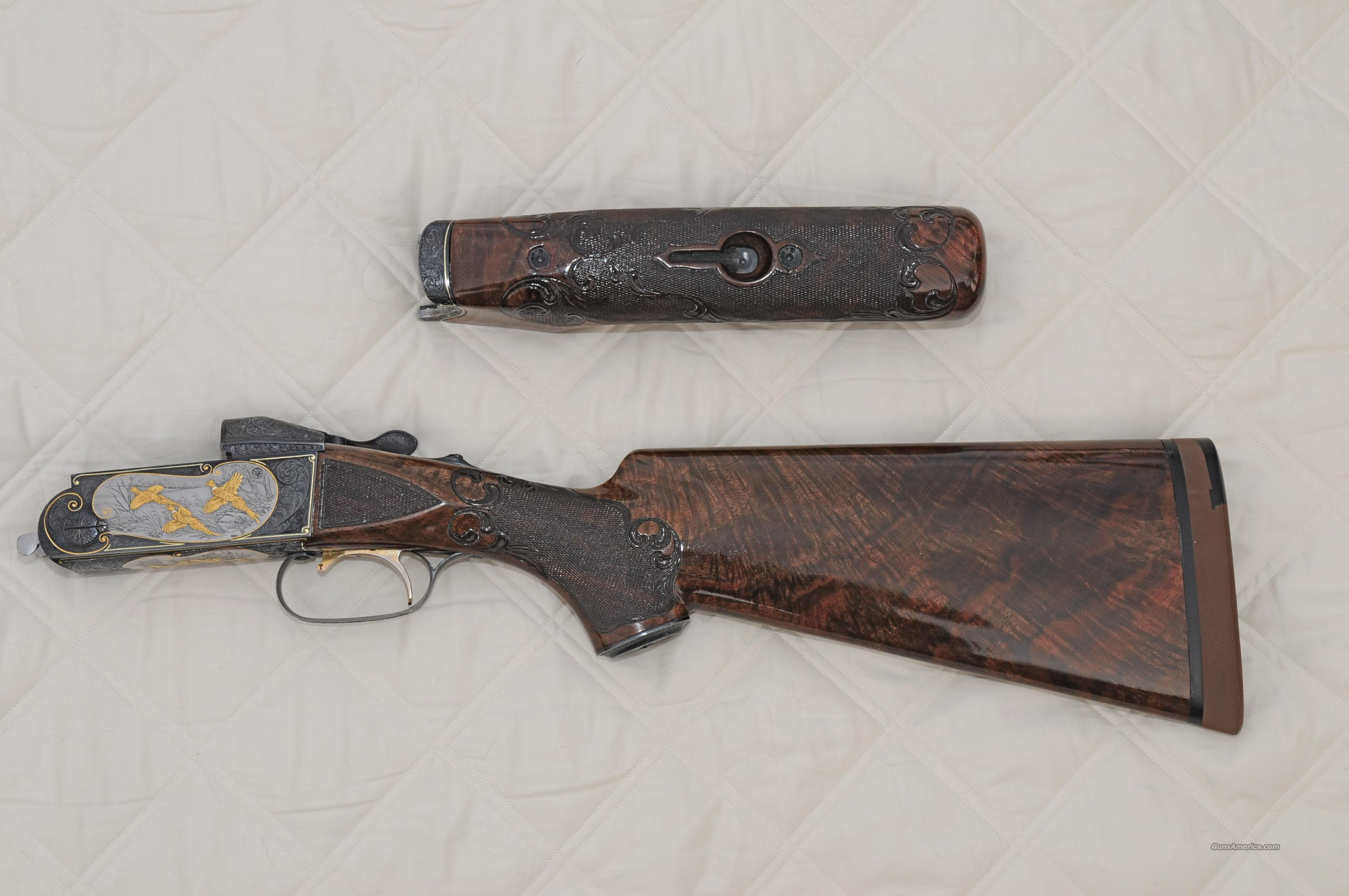 Krieghoff K-32 A. Bee engraved 4 barrel set  Guns > Shotguns > Krieghoff Shotguns