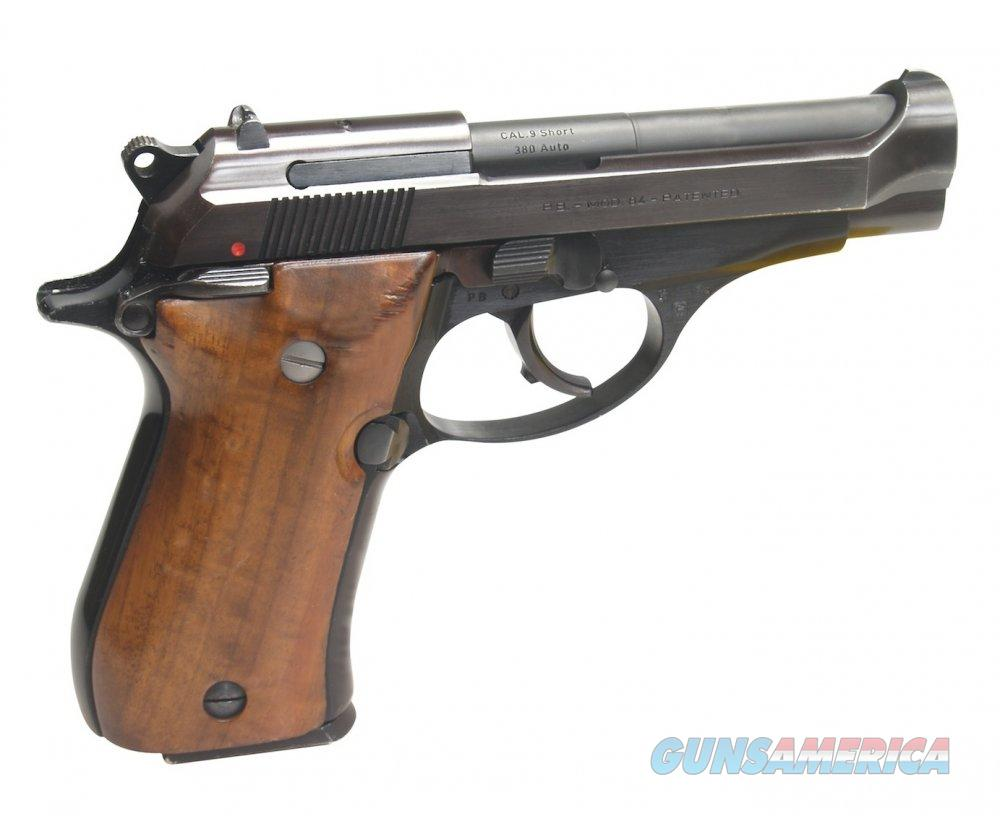 Imported Pre-Owned Beretta 84 .380 ACP Wood Grips 90% Condition  Guns > Pistols > Beretta Pistols > Cheetah Series > Model 84