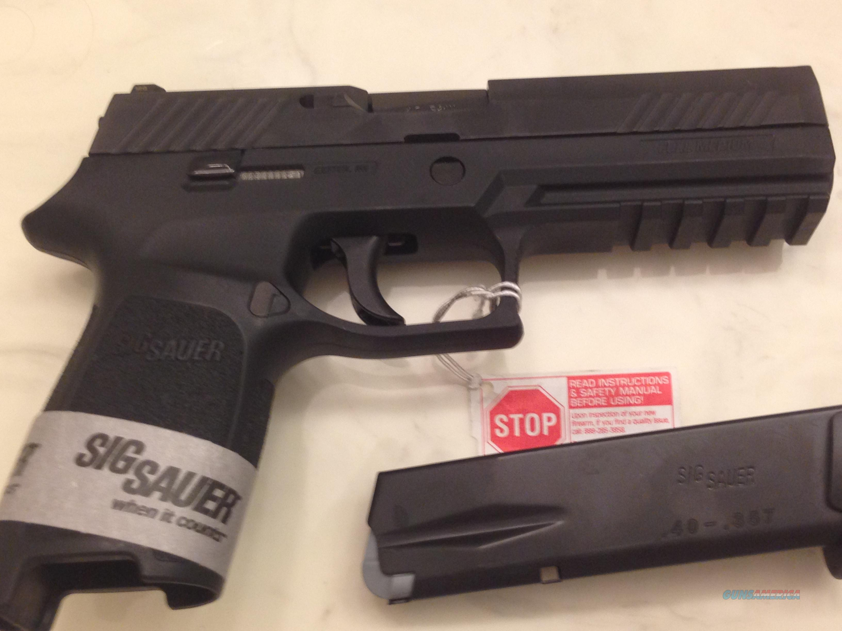 SigSauer 320 Full-Size 40cal  Guns > Pistols > Sig - Sauer/Sigarms Pistols > Other