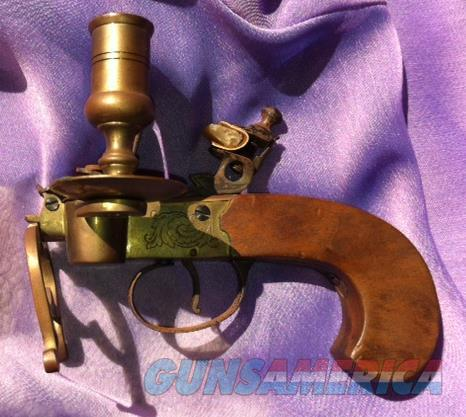 Flintlock Candle Lighter  Non-Guns > Curios