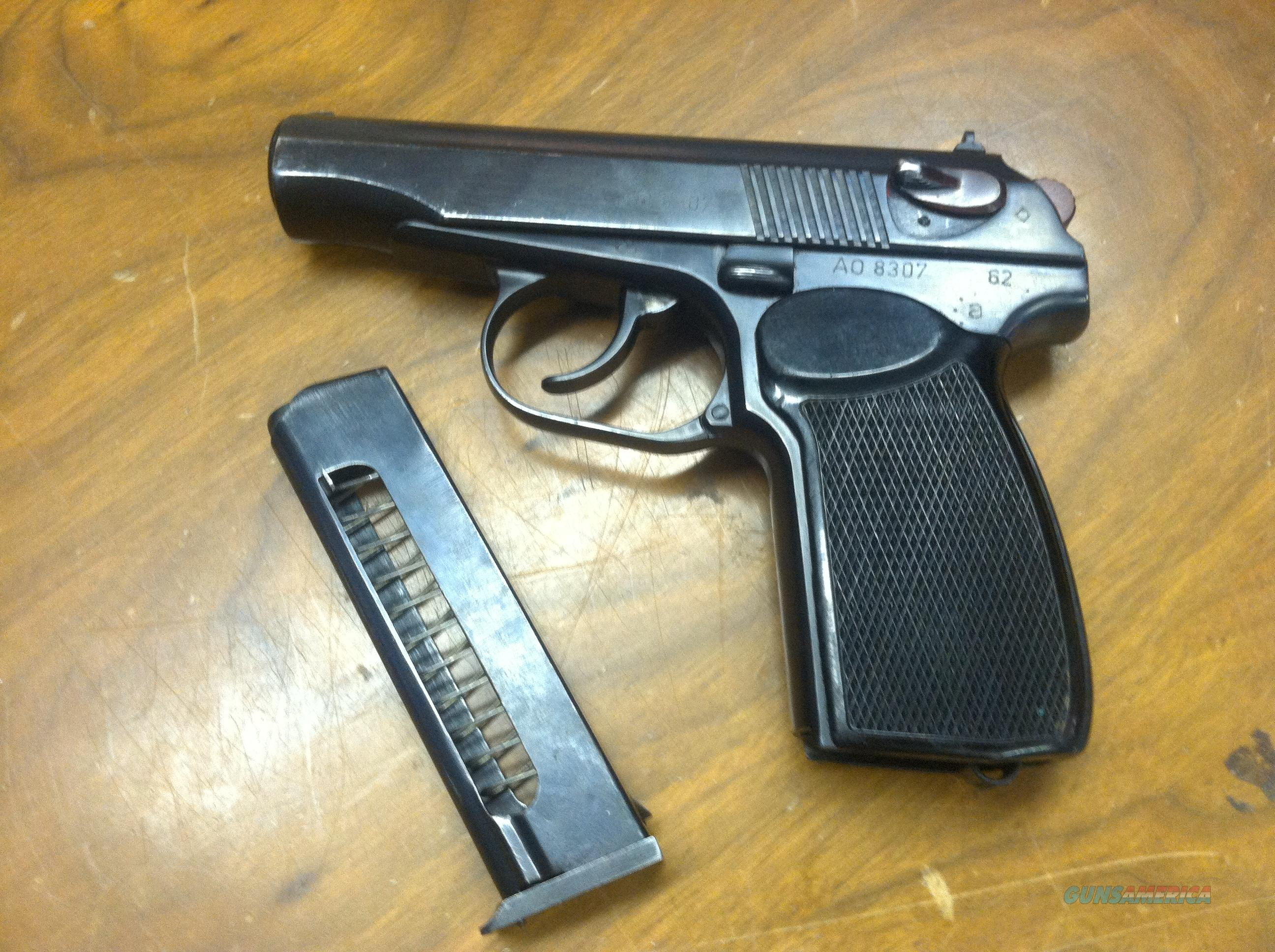 Makarov East German Pistol  Guns > Pistols > Military Misc. Pistols Non-US