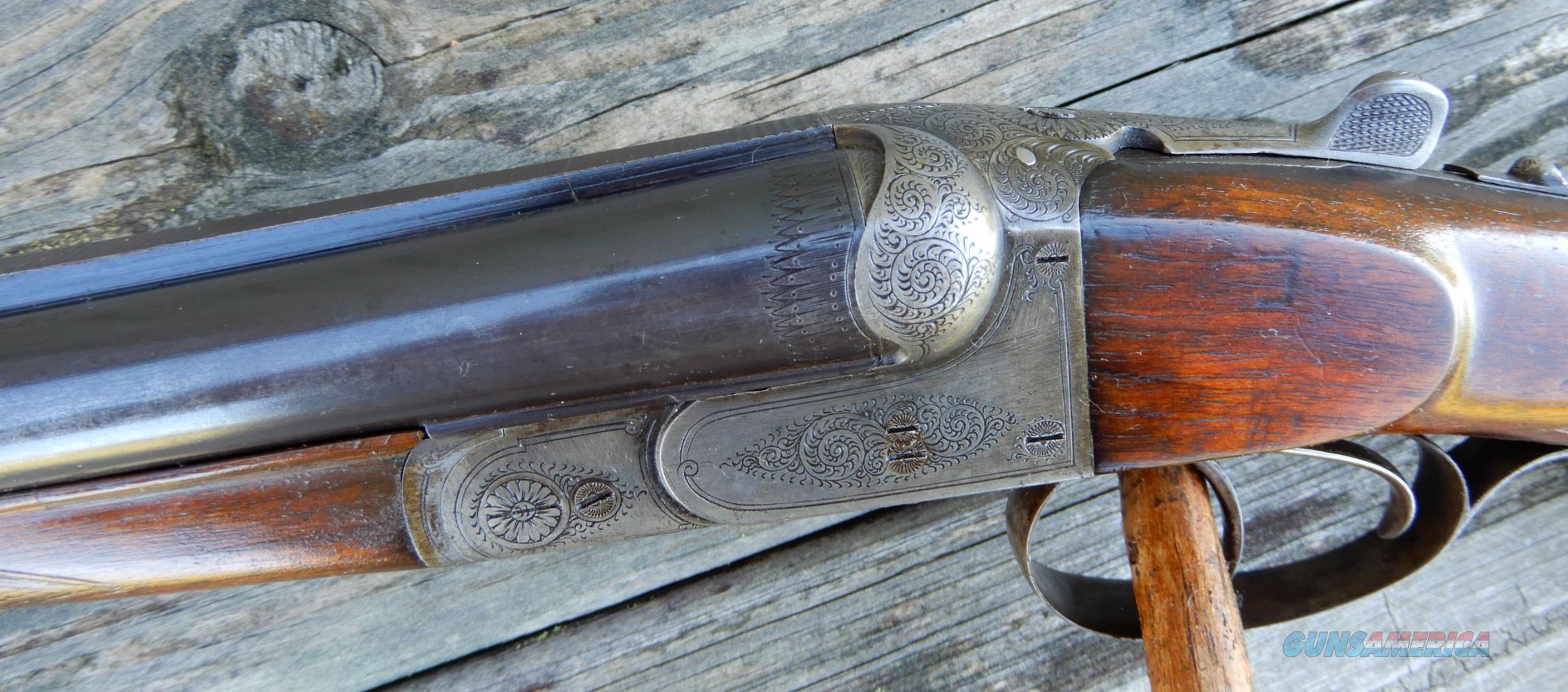 Rare Gustav Bittner 8.57JR / 16ga Combo  Guns > Shotguns > Drilling & Combo Shotgun Rifle Combos