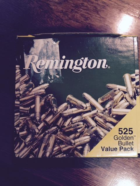 Remington Thunderbolt .22.  500 rd boxes (2) total 1000 rds  Non-Guns > Ammunition