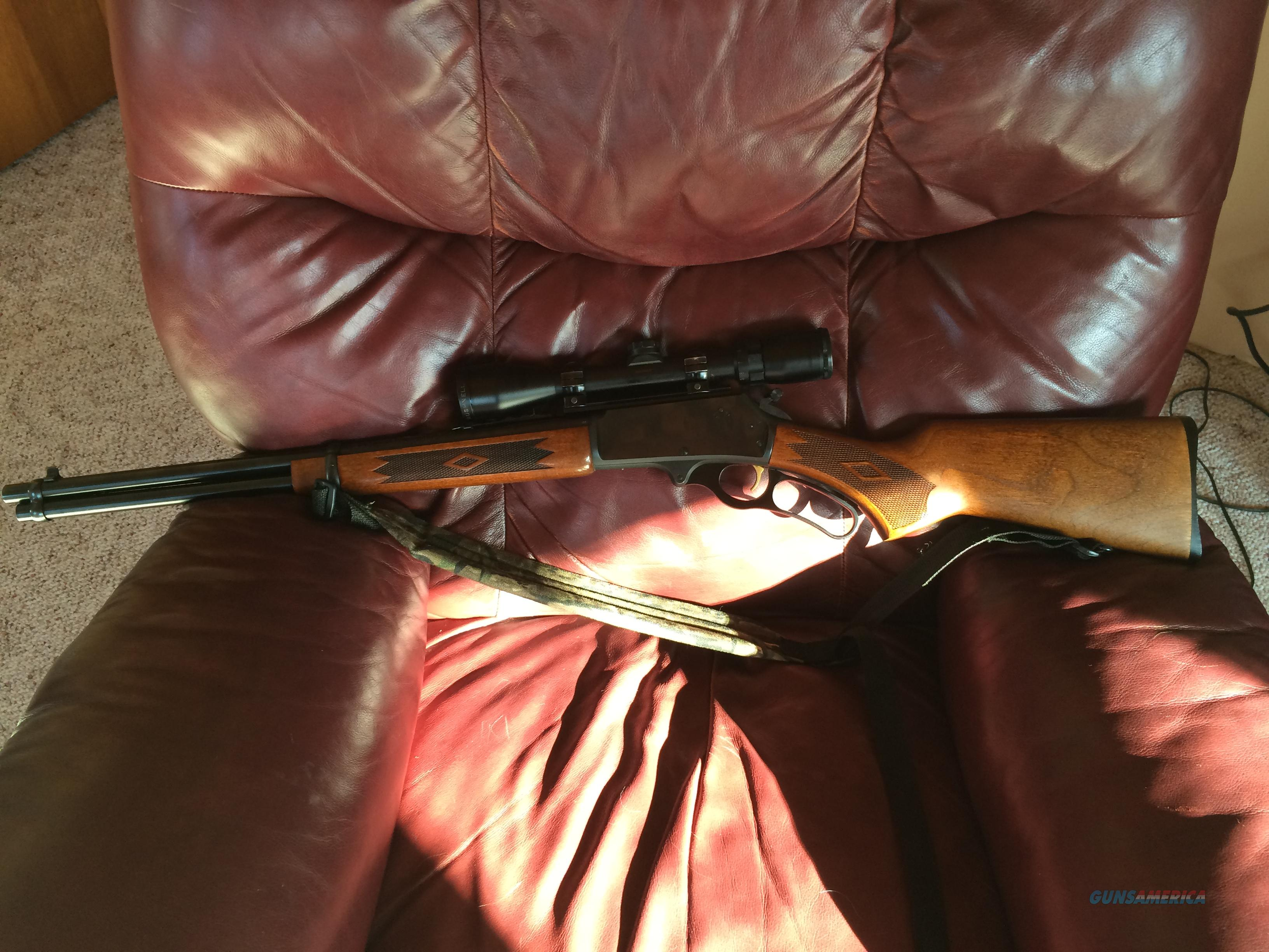Marlin Firearms Model 30AW  Guns > Rifles > Marlin Rifles > Modern > Lever Action