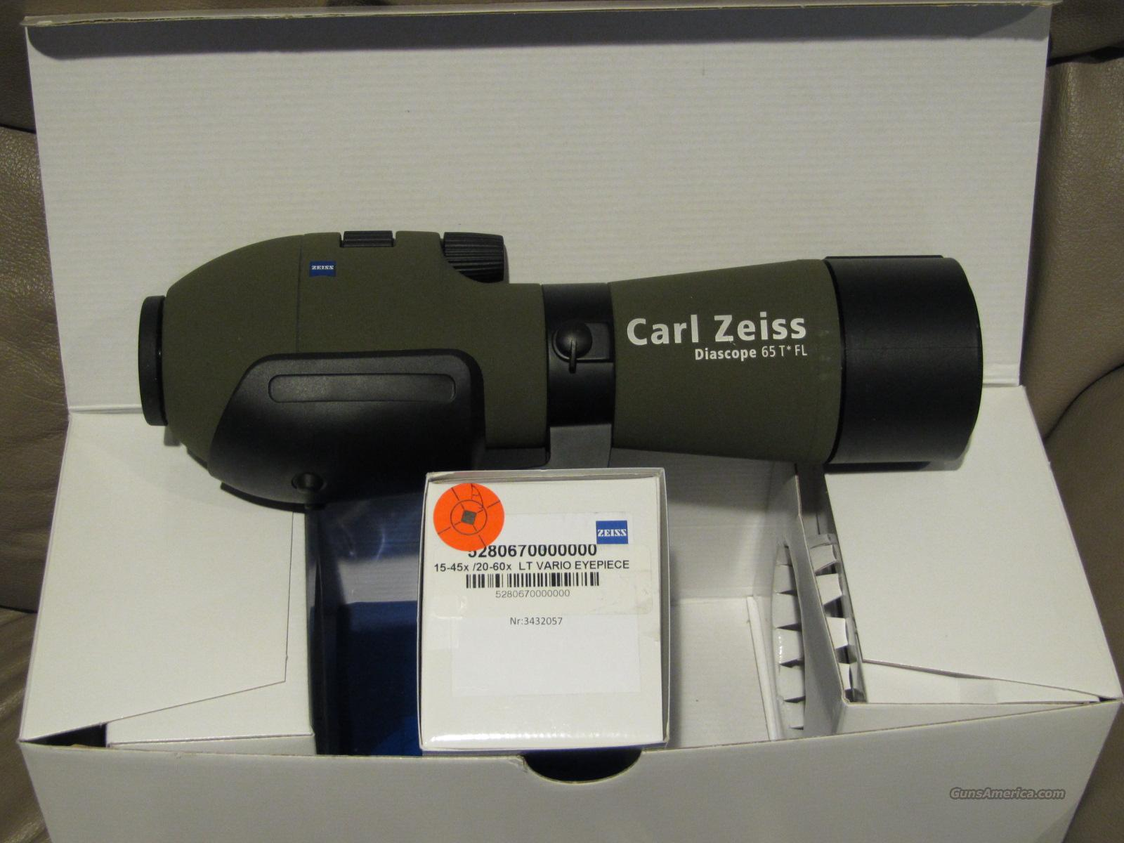 Zeiss Victory 65mm Diascope Spotting Scope with 15-45 Eyepiece   Non-Guns > Scopes/Mounts/Rings & Optics > Non-Scope Optics > Other