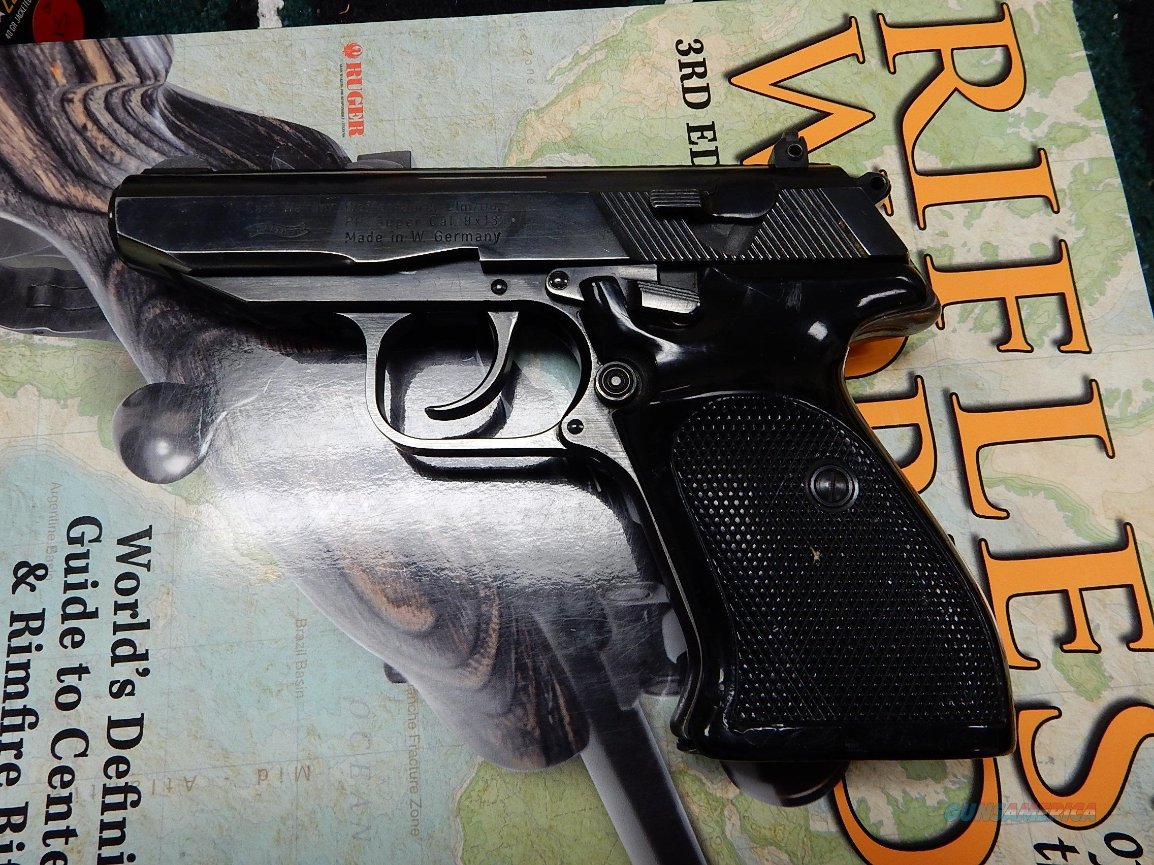 Walther PP 9mm Makarov (9X18) In Box  Guns > Pistols > Walther Pistols > Post WWII > PPS