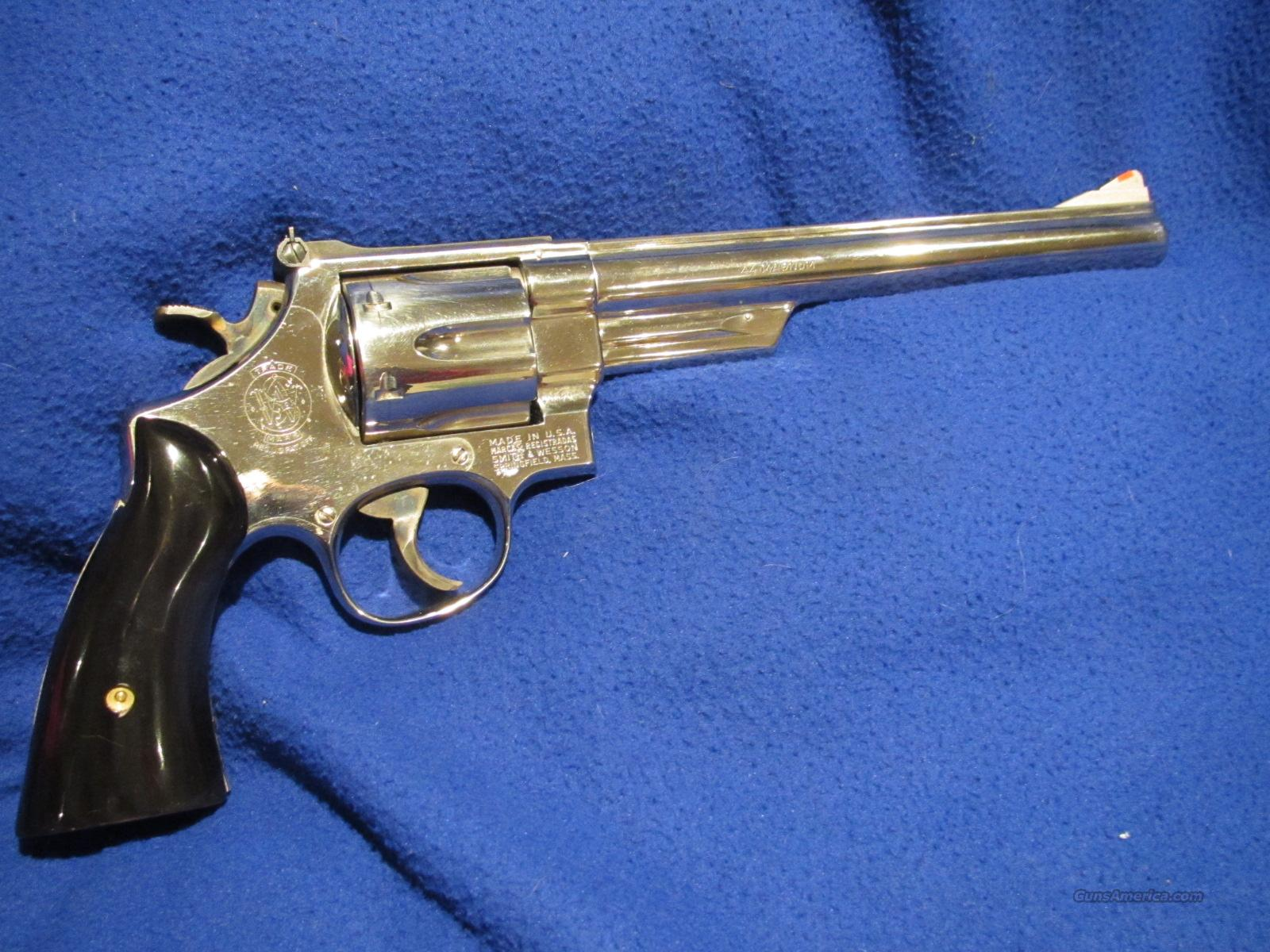 Smith And Wesson 29-2 Nickel  8 3/8  Guns > Pistols > Smith & Wesson Revolvers > Full Frame Revolver
