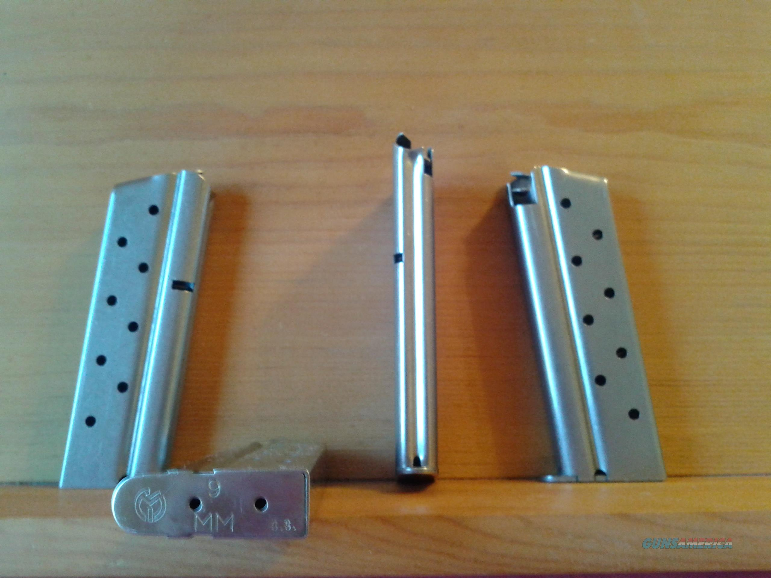 METALFORM STAINLESS  1911 9mm 8 ROUND MAGAZINES  Non-Guns > Magazines & Clips > Pistol Magazines > 1911