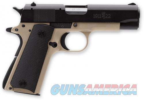 Browning 1911-22 A1 .22LR Compact Desert Tan FDE New UPC: 023614400981  Guns > Pistols > Browning Pistols > Other Autos