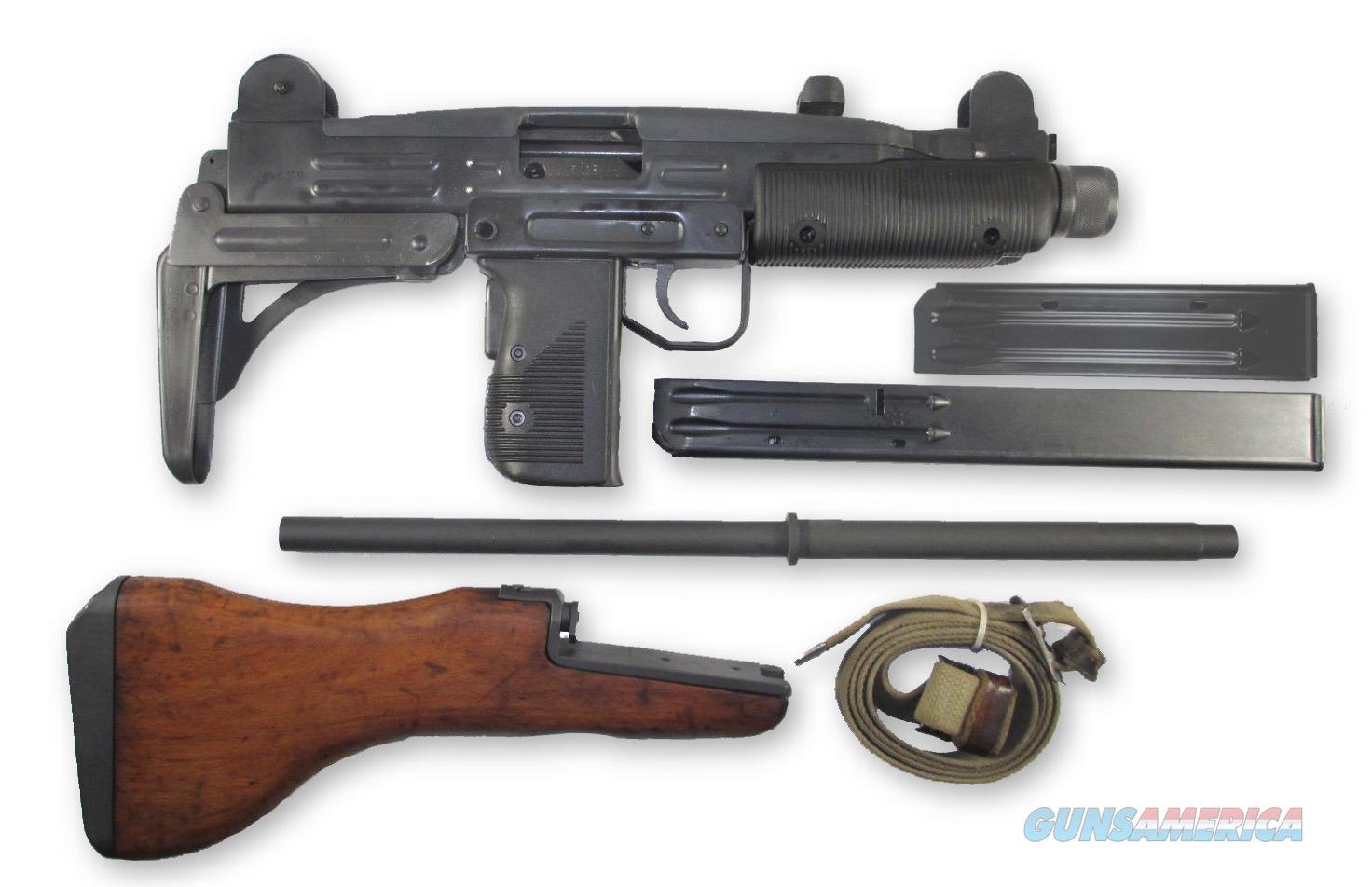 VECTOR ARMS UZI .45ACP FOLDER , SLING, EXTRA WOOD STOCK EXTRA 10 ROUND MAG  Guns > Rifles > IWI