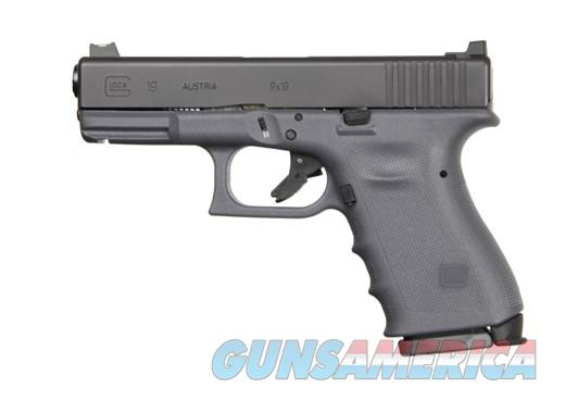 Glock 19 G19 Larry Vickers Tactical 9mm Gen 3 RTF2 Gray NIB Limited Edition Exclusive  Guns > Pistols > Glock Pistols > 19