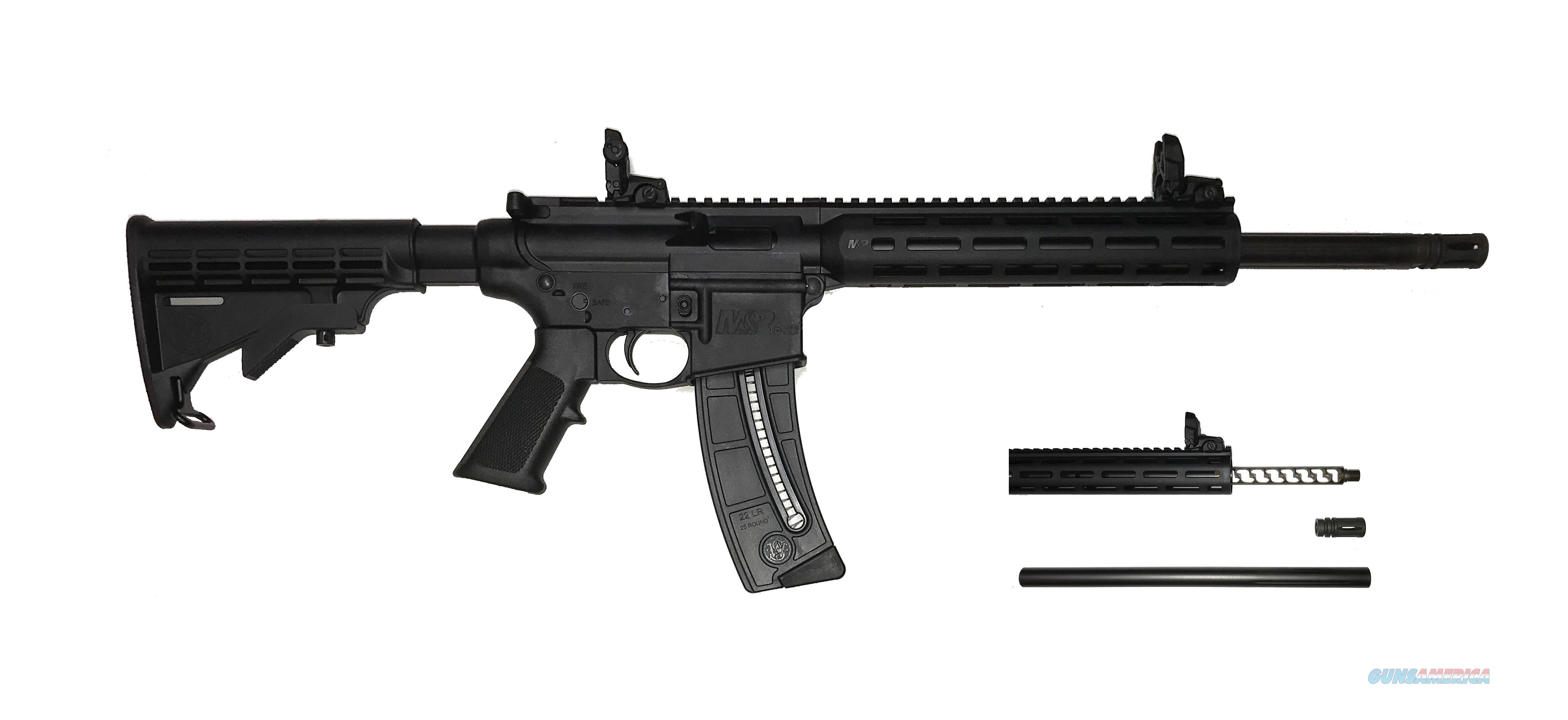 Innovative Arms Smith & Wesson M&P 15-22 .22LR  Integral Suppressed Silencer IASW  Guns > Rifles > Smith & Wesson Rifles > M&P