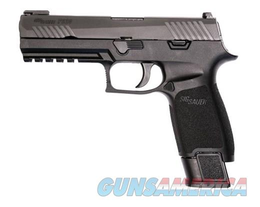 "Sig Sauer Full Size P320F TACOPS 9MM 4.7"" 21RD BLK Night Sites UPC: 798681559886 320F-9-BSS-TACOPS  Guns > Pistols > Sig - Sauer/Sigarms Pistols > P320"