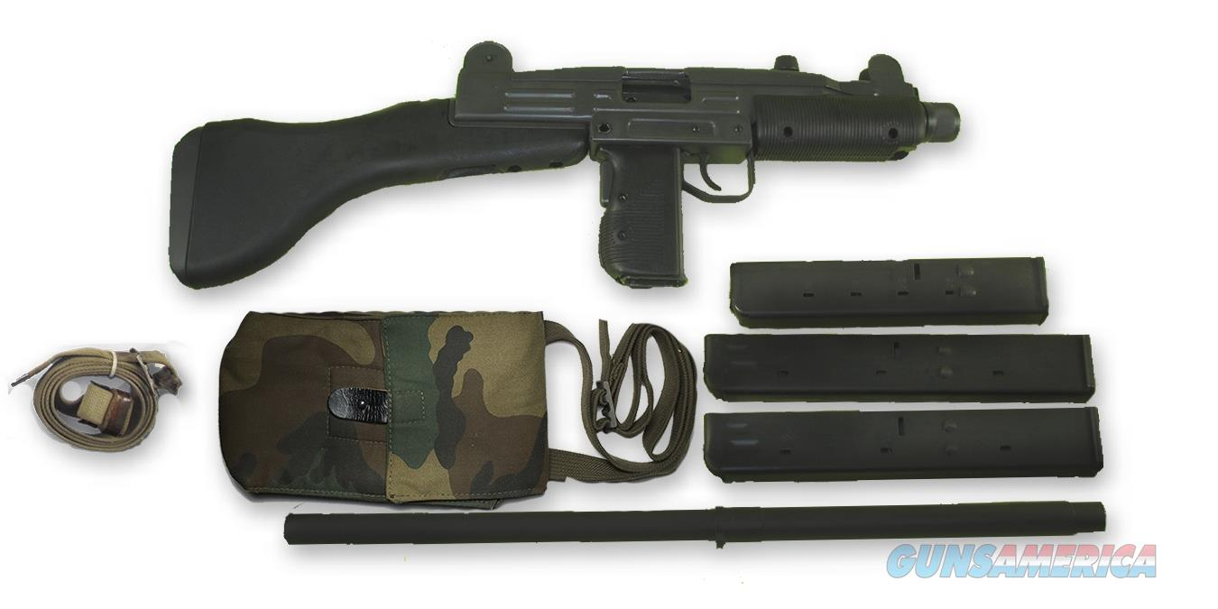 Vector Arms UZI Carbine 9mm with rare IMI Black Poly Stock  Guns > Rifles > IMI Rifles