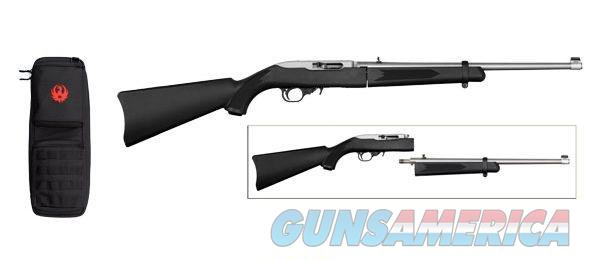Ruger 10/22 Take Down Stainless & Black 11100 .22   Guns > Rifles > Ruger Rifles > 10-22