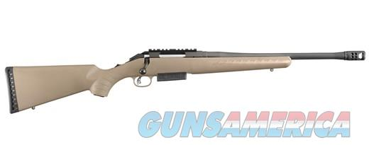 Ruger American Ranch Rifle 450 Bushmaster Threaded Compensated Barrel FDE NIB Model: 16950 UPC: 736676169504  Guns > Rifles > Ruger Rifles > American Rifle