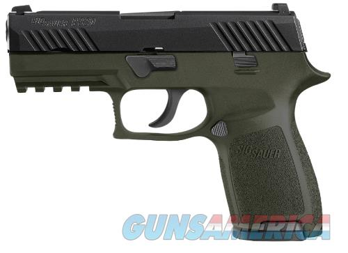 SIG SAUER P320C COMPACT 9MM ODG NIGHT SIGHTS 15+1 NS 320C-9-TSS-ODG  Guns > Pistols > Sig - Sauer/Sigarms Pistols > P320
