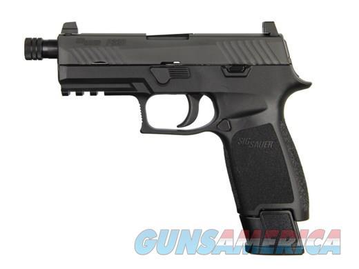 "Sig Sauer P320 320 Carry TACOPS , Striker Fired 9MM, 3.9"" Threaded Barrel, Polymer Frame, Nitron Fisnish, 21Rd, 4 Mags, SIGLITE Night Sights MODEL: 320CA-9-TACOPS-TB  UPC: 798681559473   Guns > Pistols > Sig - Sauer/Sigarms Pistols > P320"