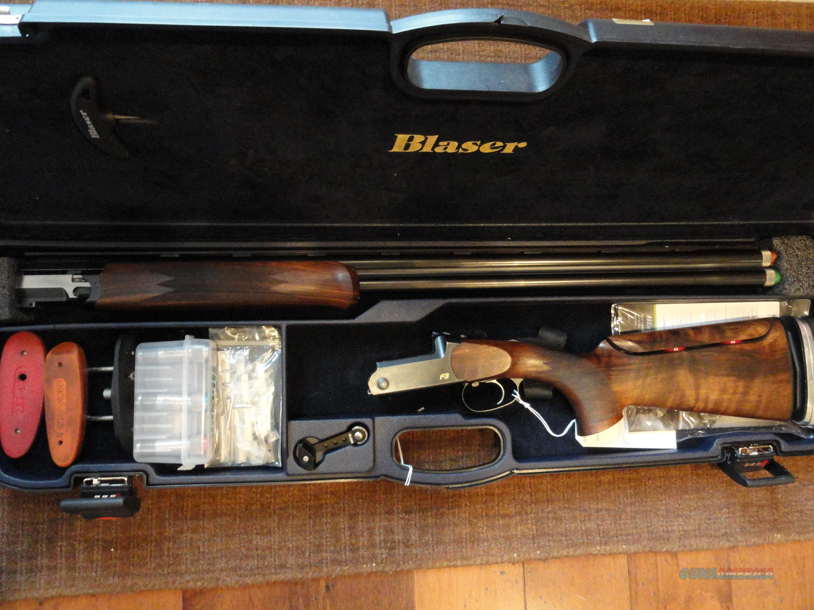 BLASER F3 Competition Sporting  Guns > Shotguns > Blaser Shotguns