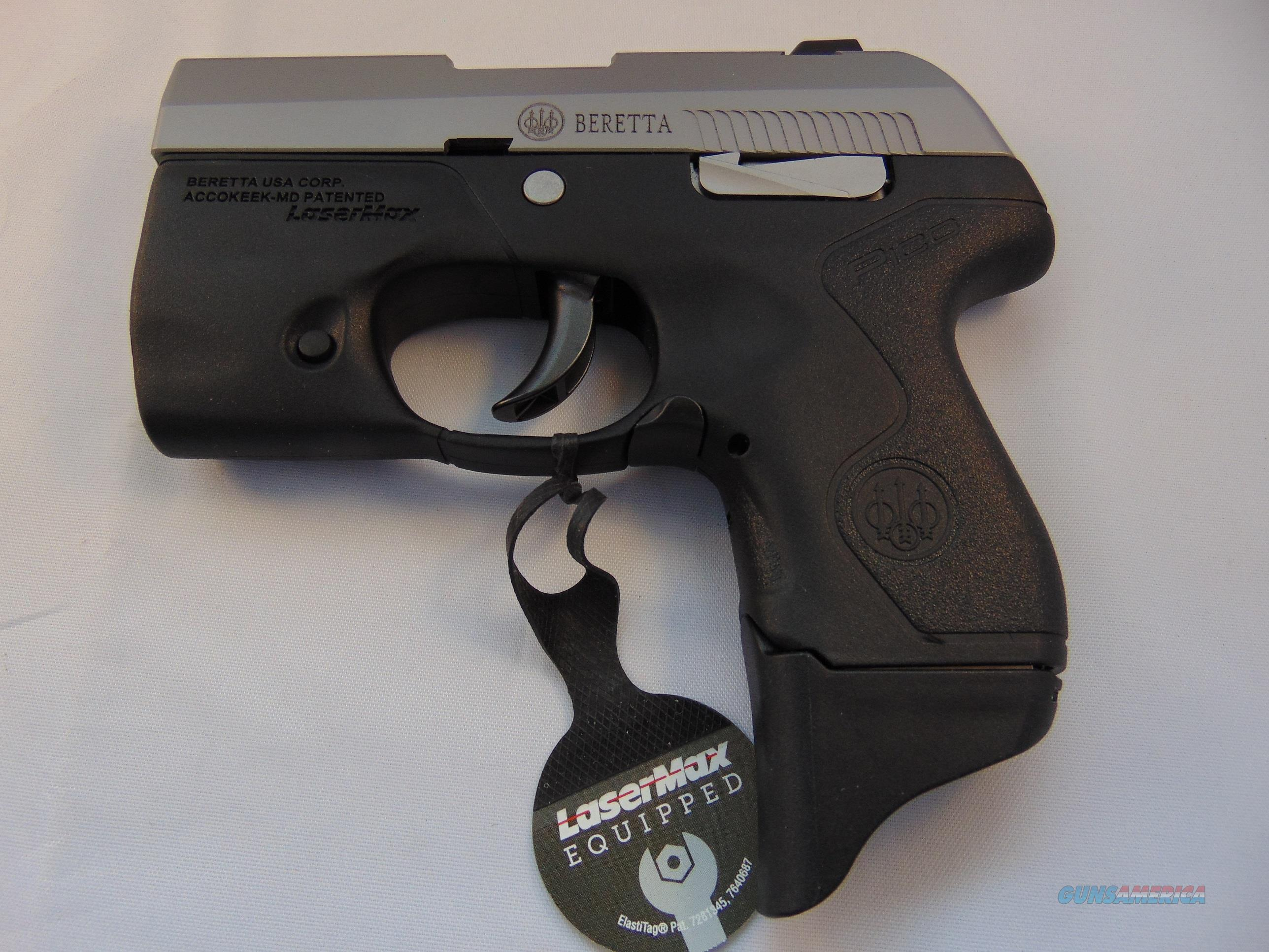 Brand New, Factory Sealed Beretta Pico .380 ACP LaserMax, Upgraded Model  Guns > Pistols > Beretta Pistols > Small Caliber Tip Out
