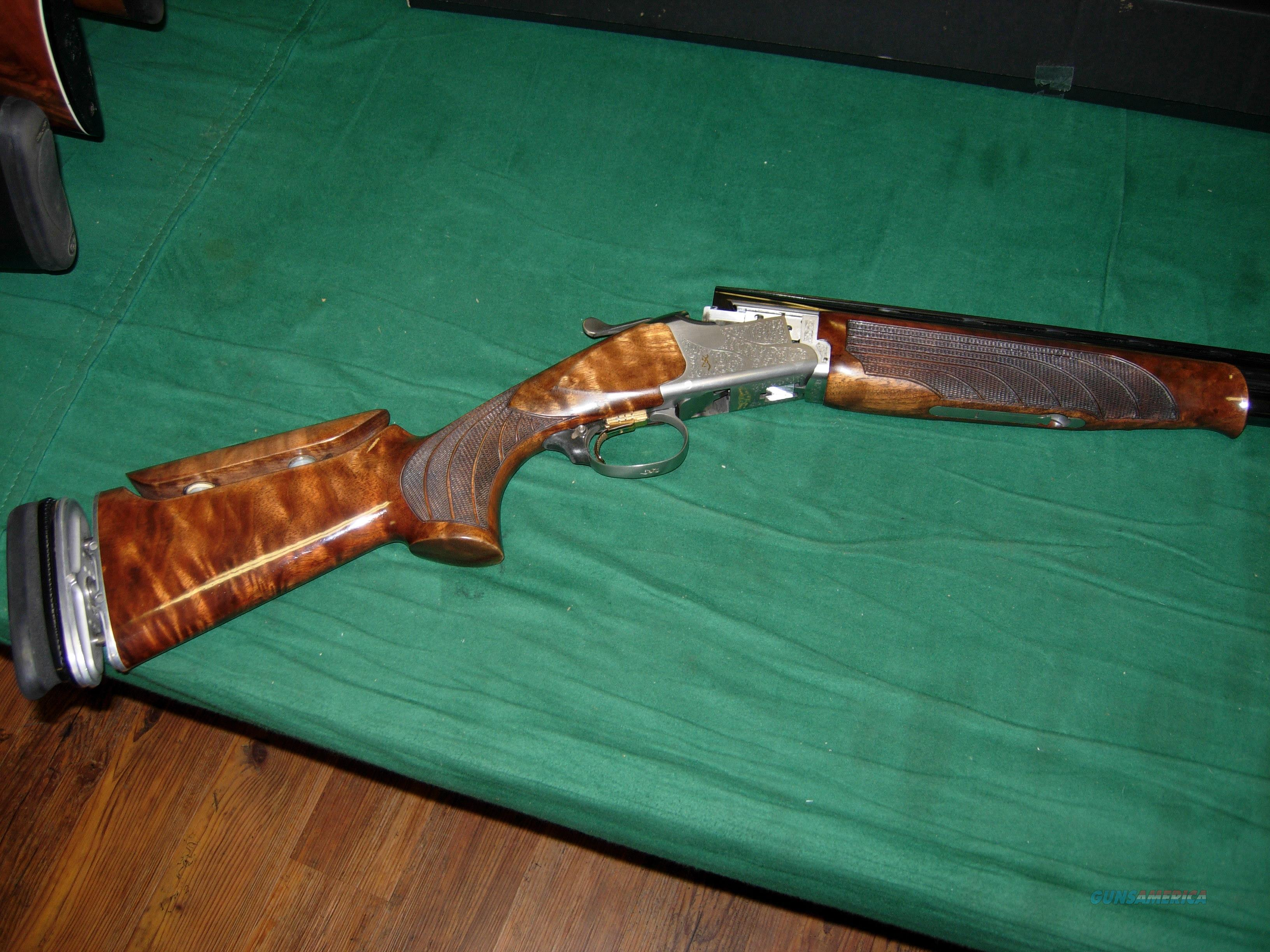 Browning 625 w/ADJ Comb and recoil reducer   Guns > Shotguns > Browning Shotguns > Over Unders > Citori > Trap/Skeet