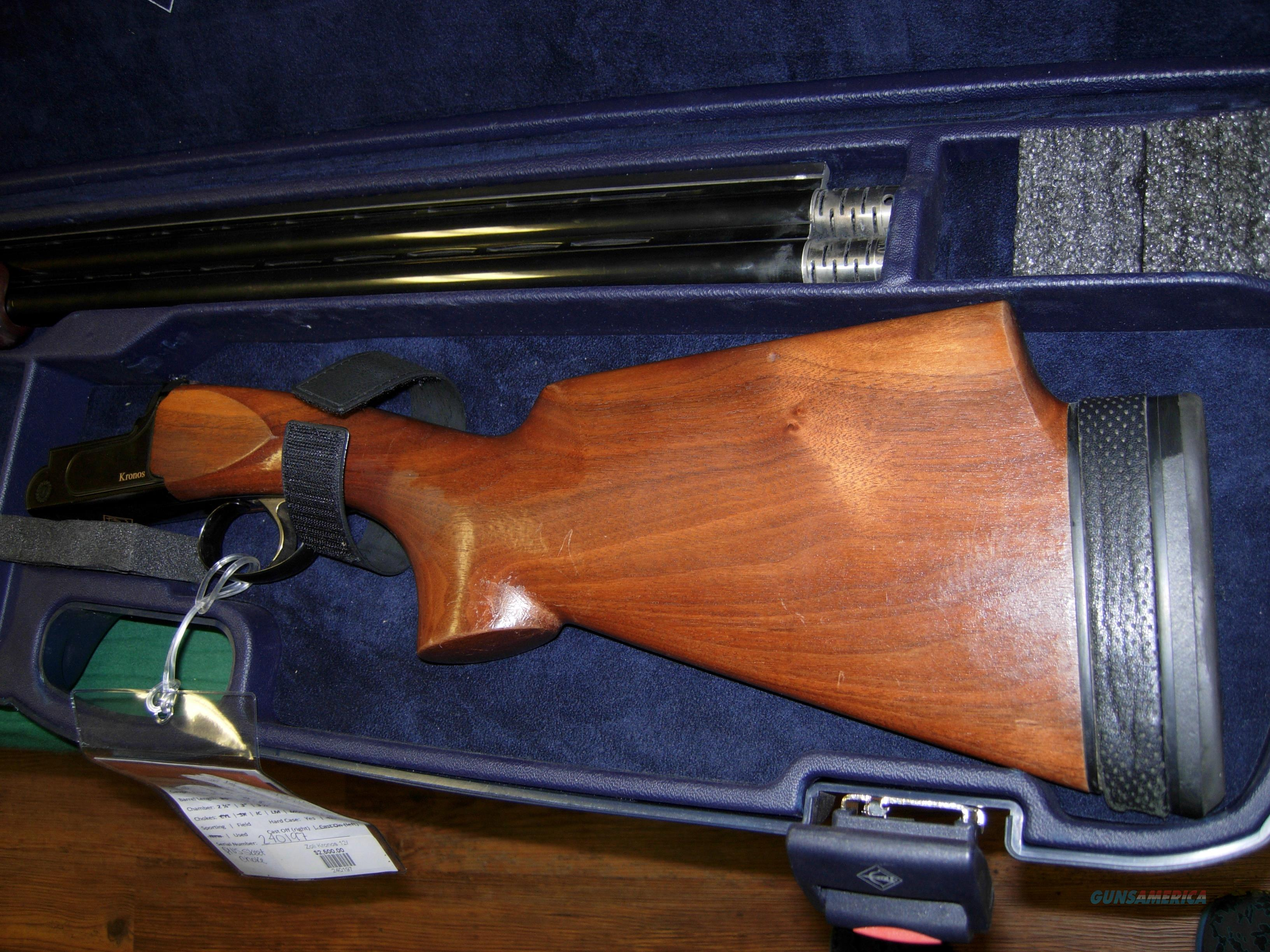 Zoli Kronos 12/30 Lowered price  Guns > Shotguns > XYZ Misc Shotguns