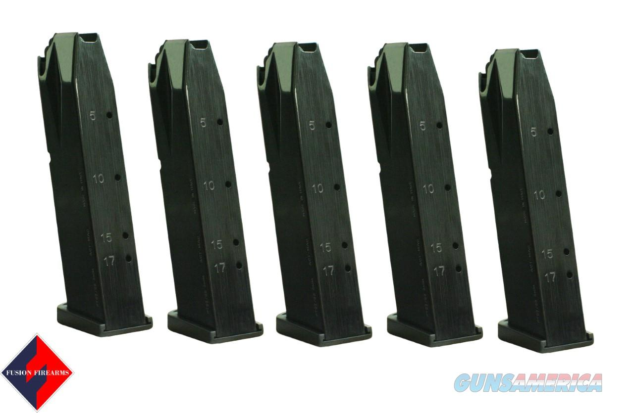TAURUS PT92 / 99 17 ROUND 9MM ACT-MAG -BLACK- 5 pack  Non-Guns > Magazines & Clips > Pistol Magazines > Other