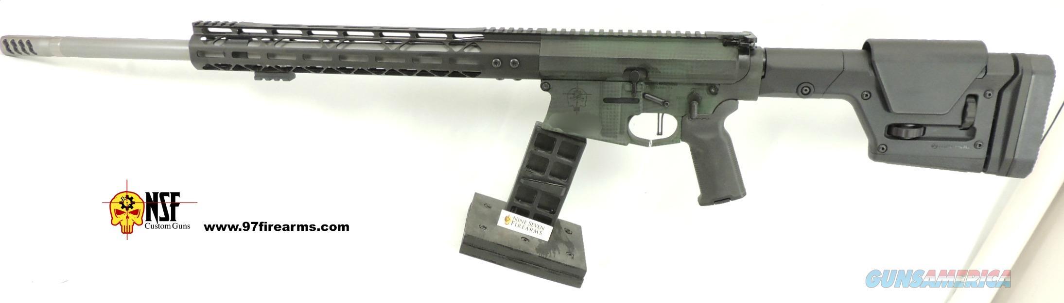 "6.5 Creedmoor, 22"" Heavy Barrel, Custom Cerakote, POF Trigger, Nickel BCG  Guns > Rifles > AR-15 Rifles - Small Manufacturers > Complete Rifle"