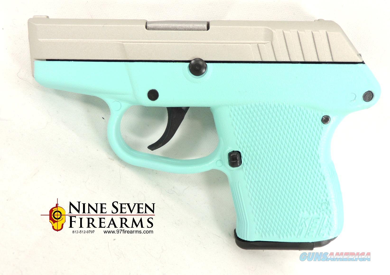 Kel-Tec P-32 Custom Cerakote in Robins Egg P32 Keltec  Guns > Pistols > Kel-Tec Pistols > Pocket Pistol Type