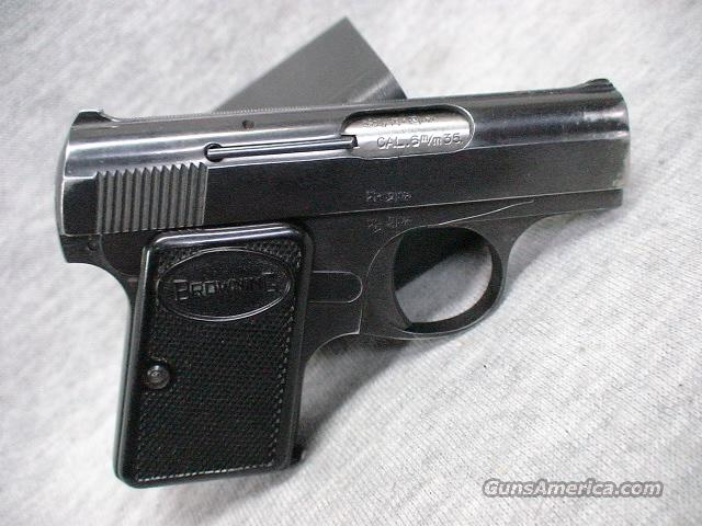 Browning Baby Auto  Guns > Pistols > Browning Pistols > Baby Browning