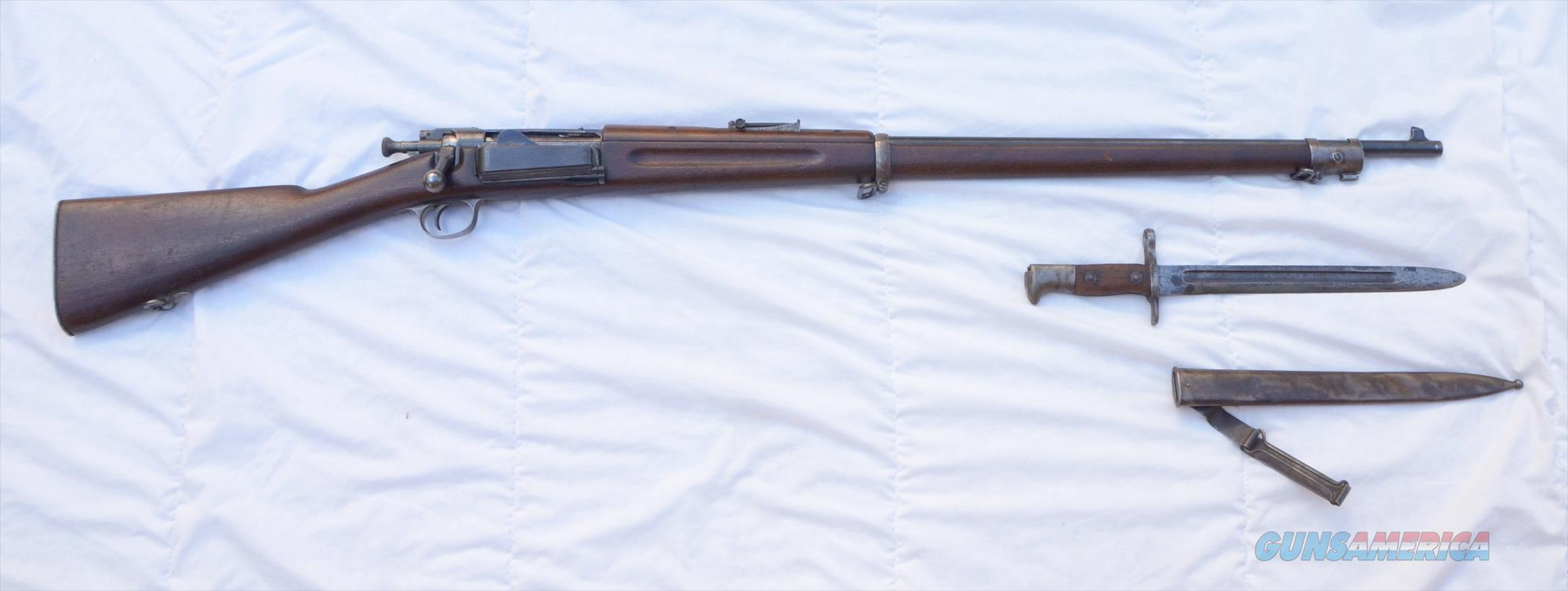 U.S. Springfield Armory Model 1896 .30-40 Krag - Unmodified  Guns > Rifles > Antique (Pre-1899) Rifles - Ctg. Misc.