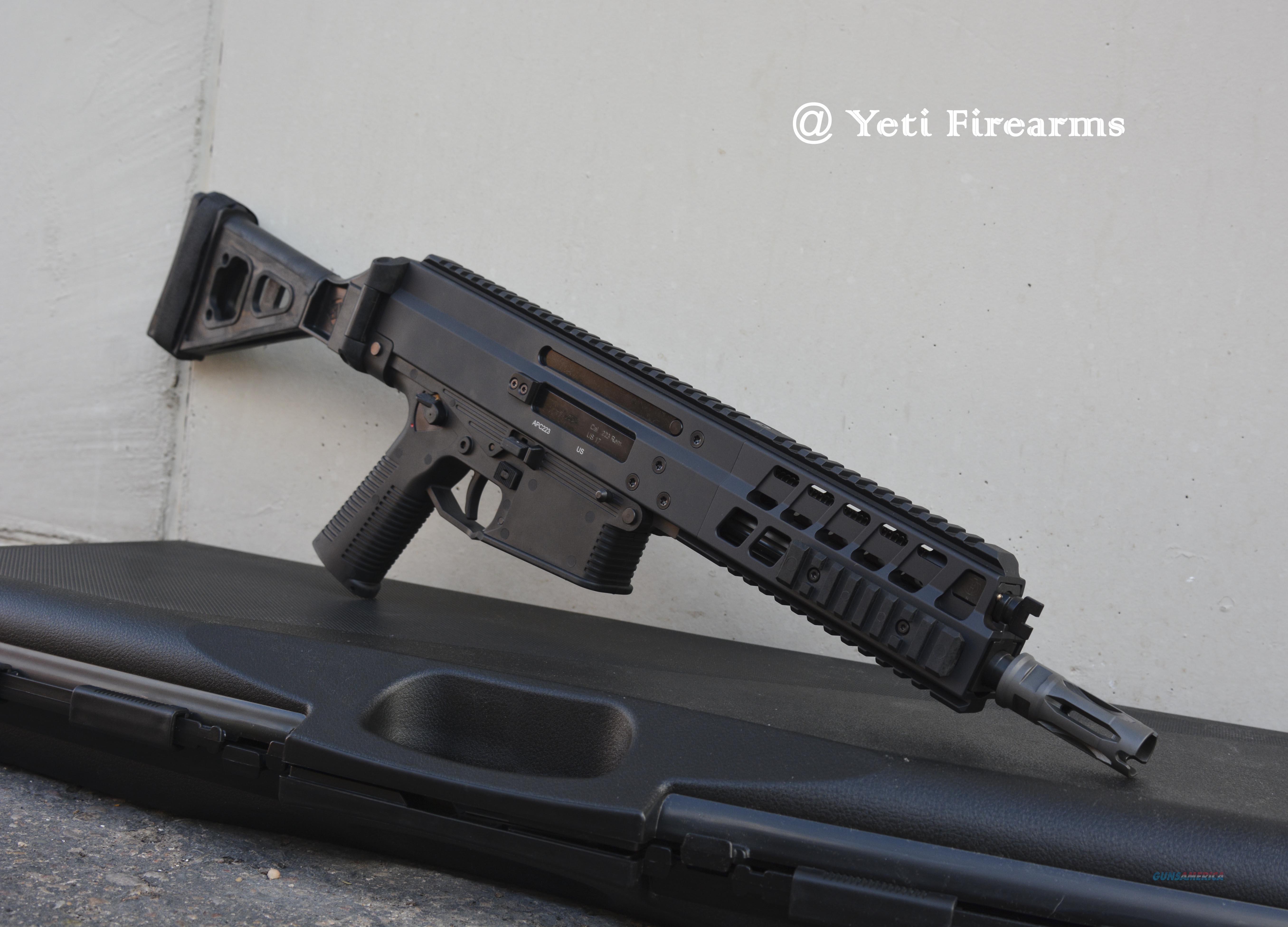 B&T APC223 Pistol W/ Folding Brace 5.56mm APC 223  Guns > Pistols > B Misc Pistols