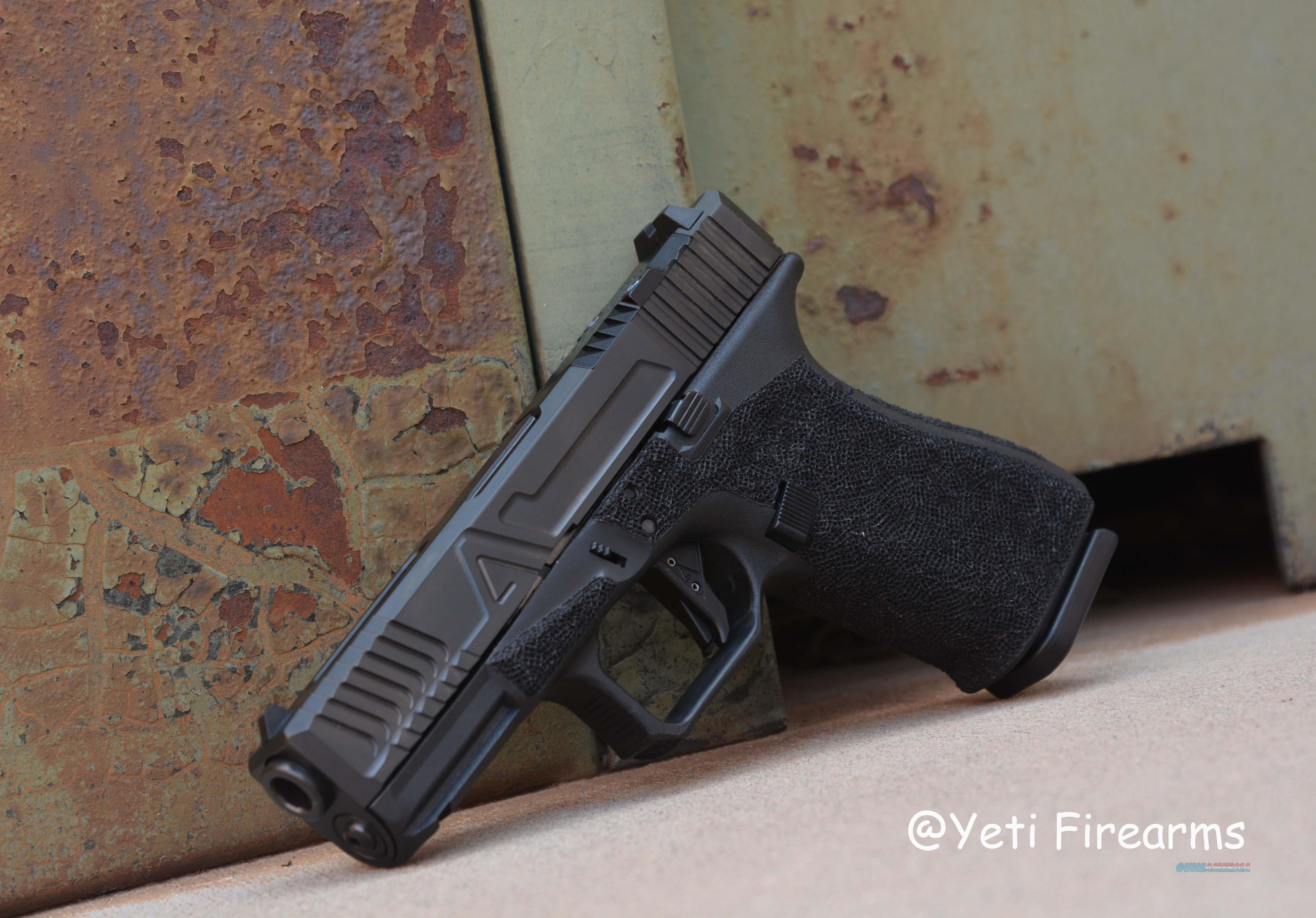 Agency Arms Glock 19 G4 9mm Hybrid No CC Fee BLK  Guns > Pistols > Glock Pistols > 19/19X