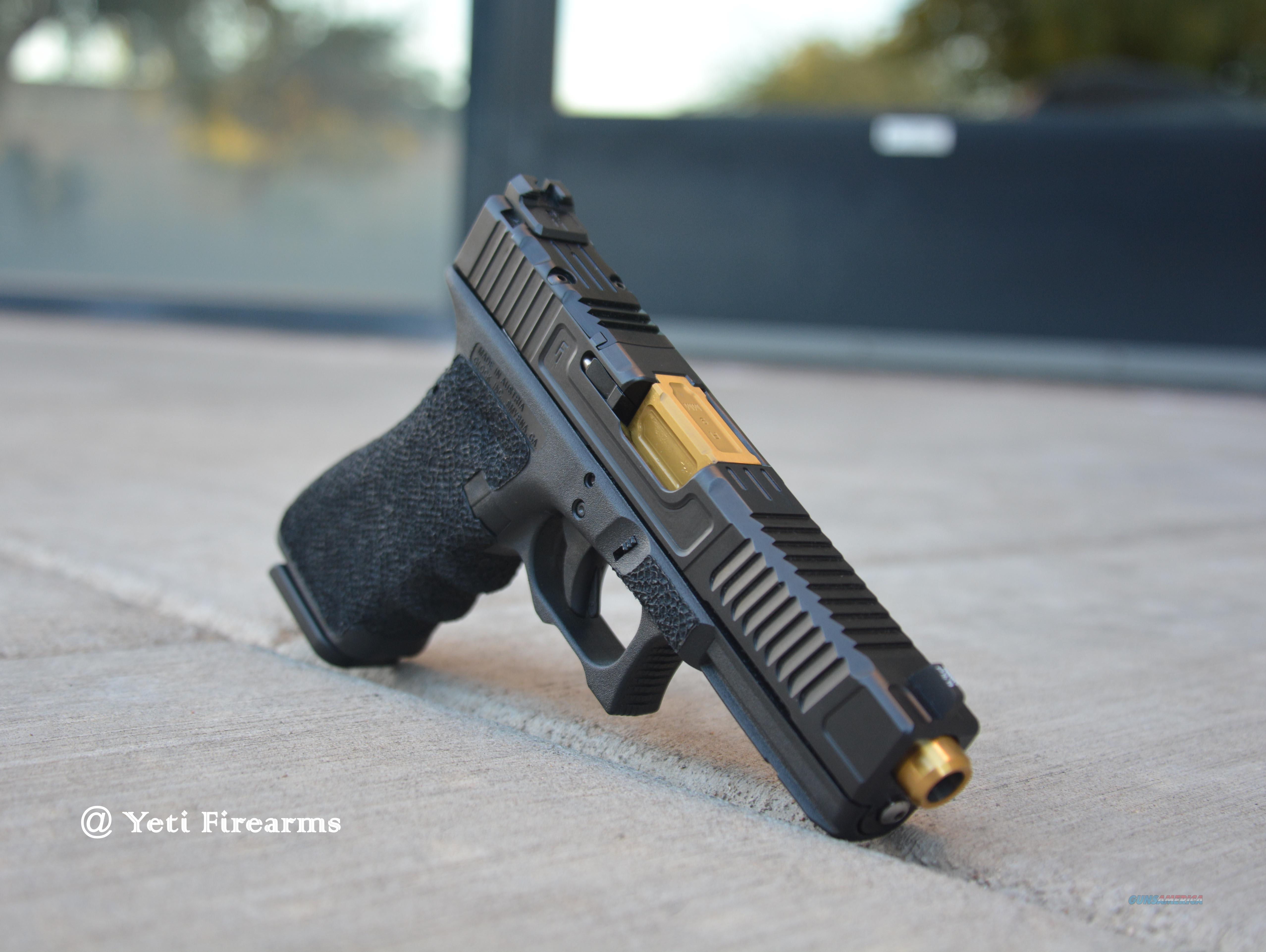 Fowler Industries MK1 Glock 17 G3 9mm TiN Trijicon  Guns > Pistols > Glock Pistols > 17