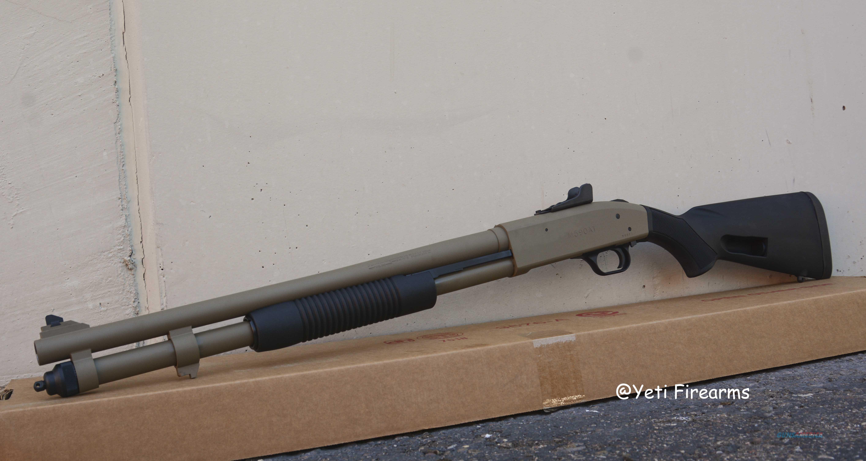 Mossberg 5901A1 9 Shot 12ga Magpul FDE 51668  Guns > Shotguns > Mossberg Shotguns > Pump > Tactical