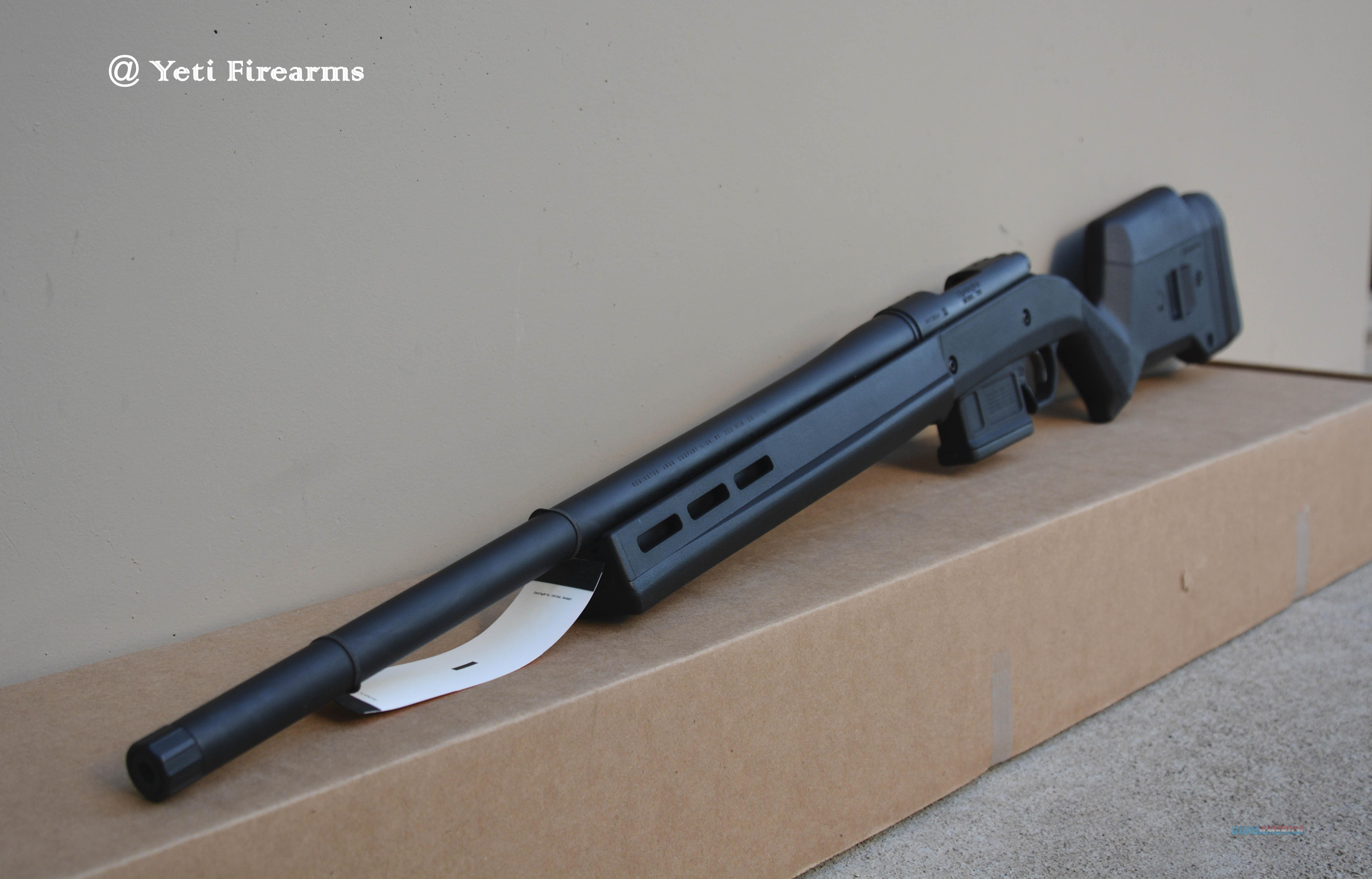 "Remington 700 Magpul .308 22"" Threaded 5R 84293  Guns > Rifles > Remington Rifles - Modern > Model 700 > Tactical"