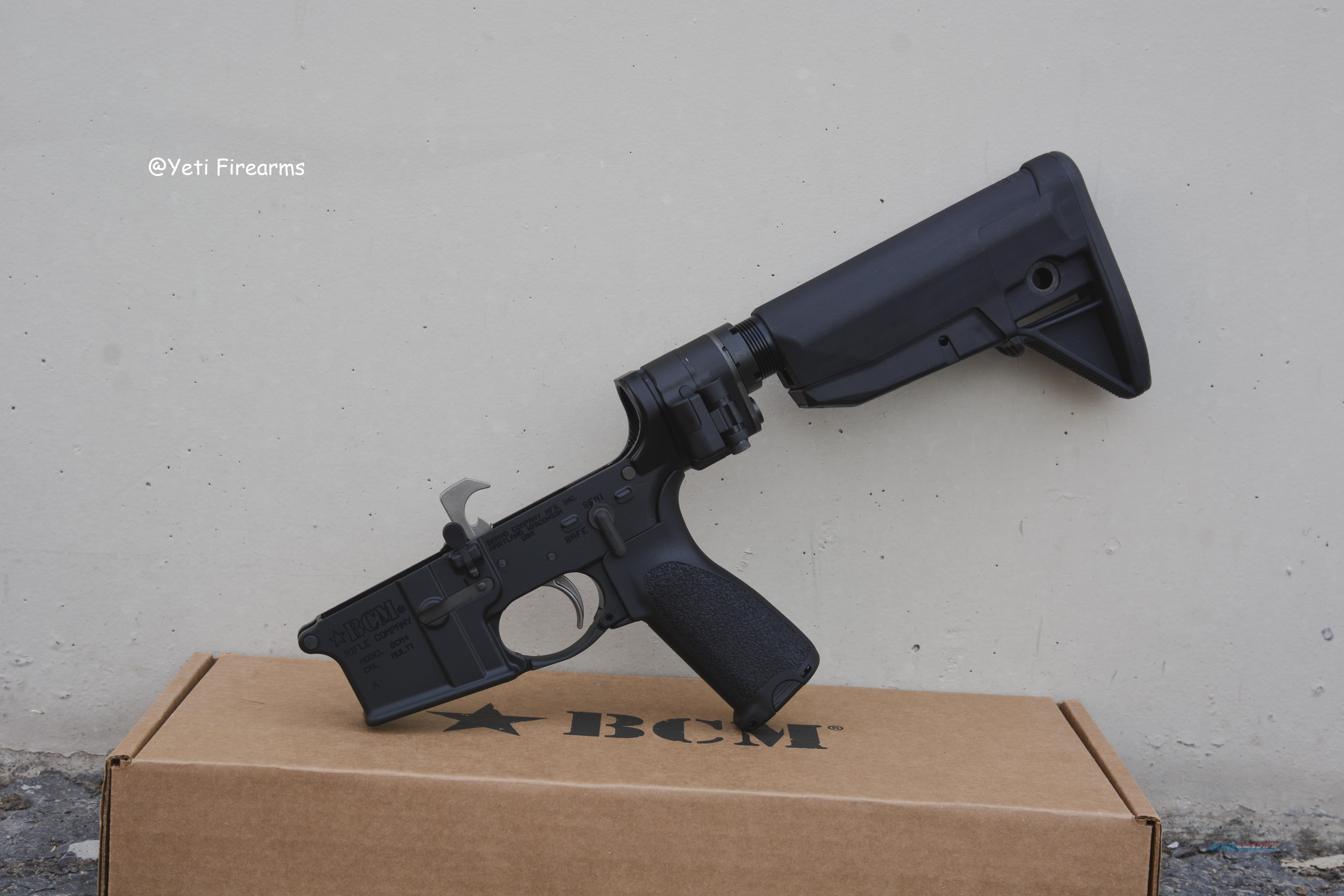 BCM Complete BCM4 AR-15 Lower Mod 0 Law Folder  Guns > Rifles > AR-15 Rifles - Small Manufacturers > Lower Only