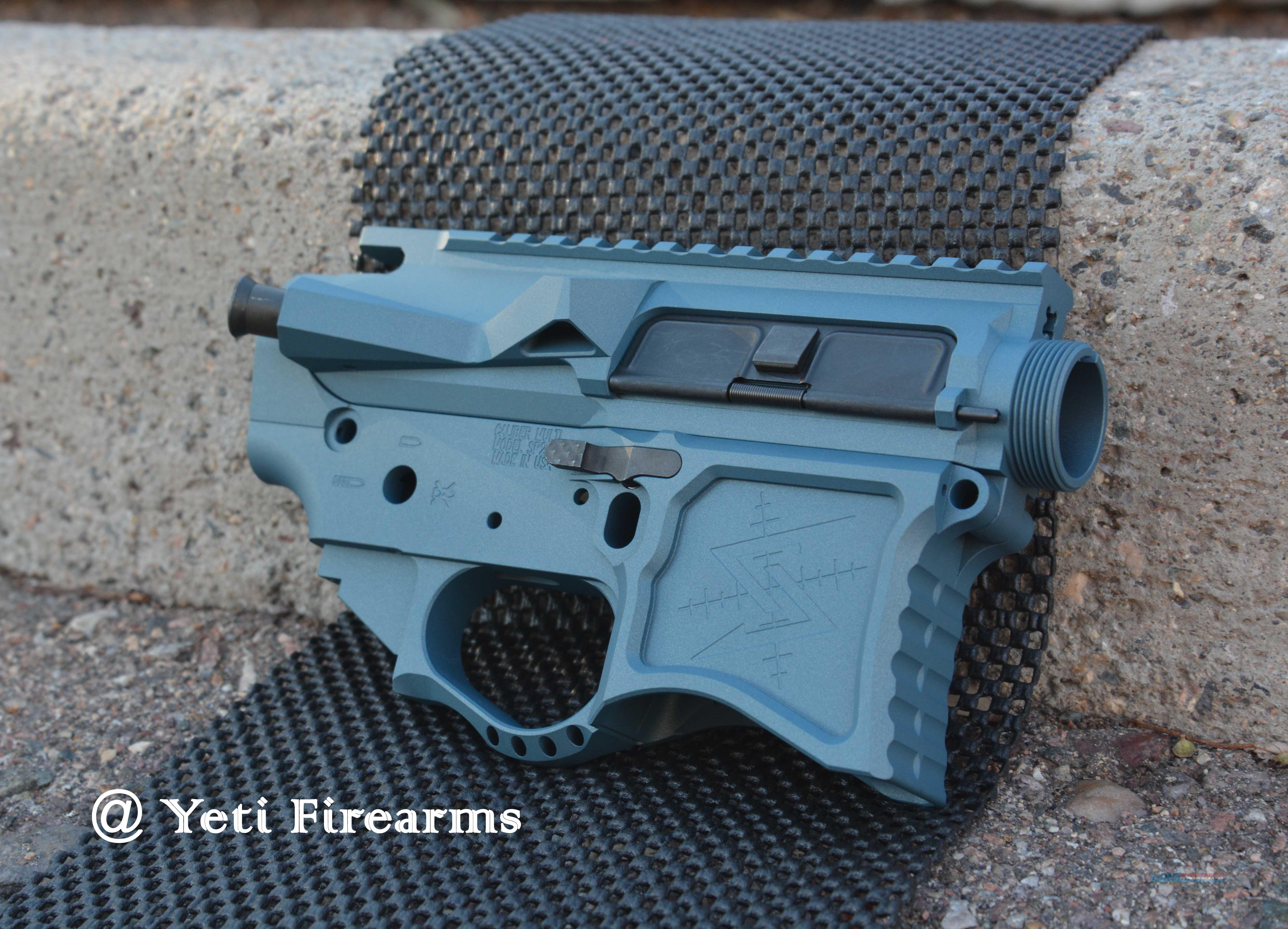 Seekins SP223 Billet AR-15 Set Blue Titanium X-Werks  Guns > Rifles > AR-15 Rifles - Small Manufacturers > Lower Only