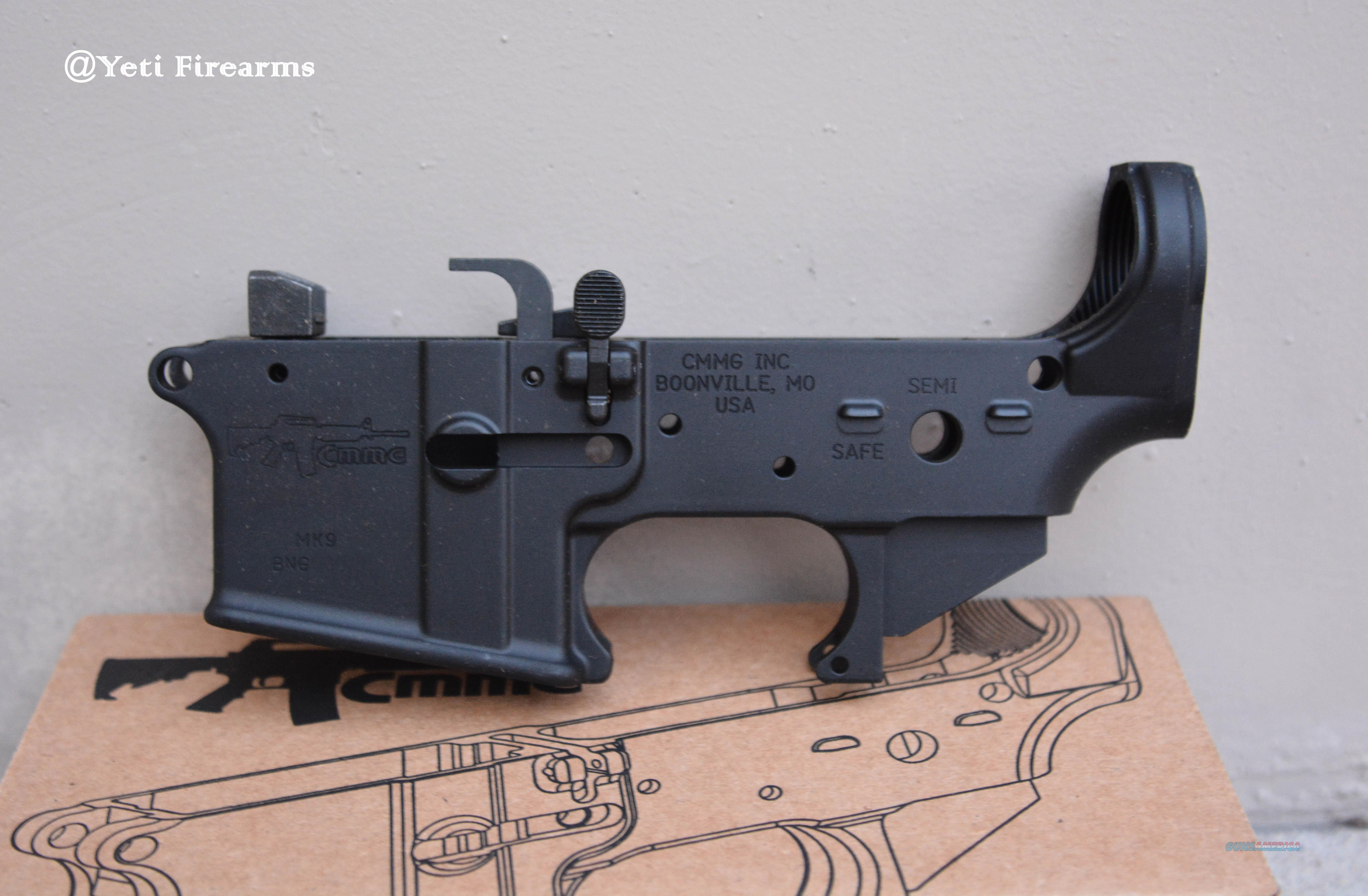 CMMG MK9 Stripped Lower # 90CA2F3 No CC Fee AR-15  Guns > Rifles > AR-15 Rifles - Small Manufacturers > Lower Only