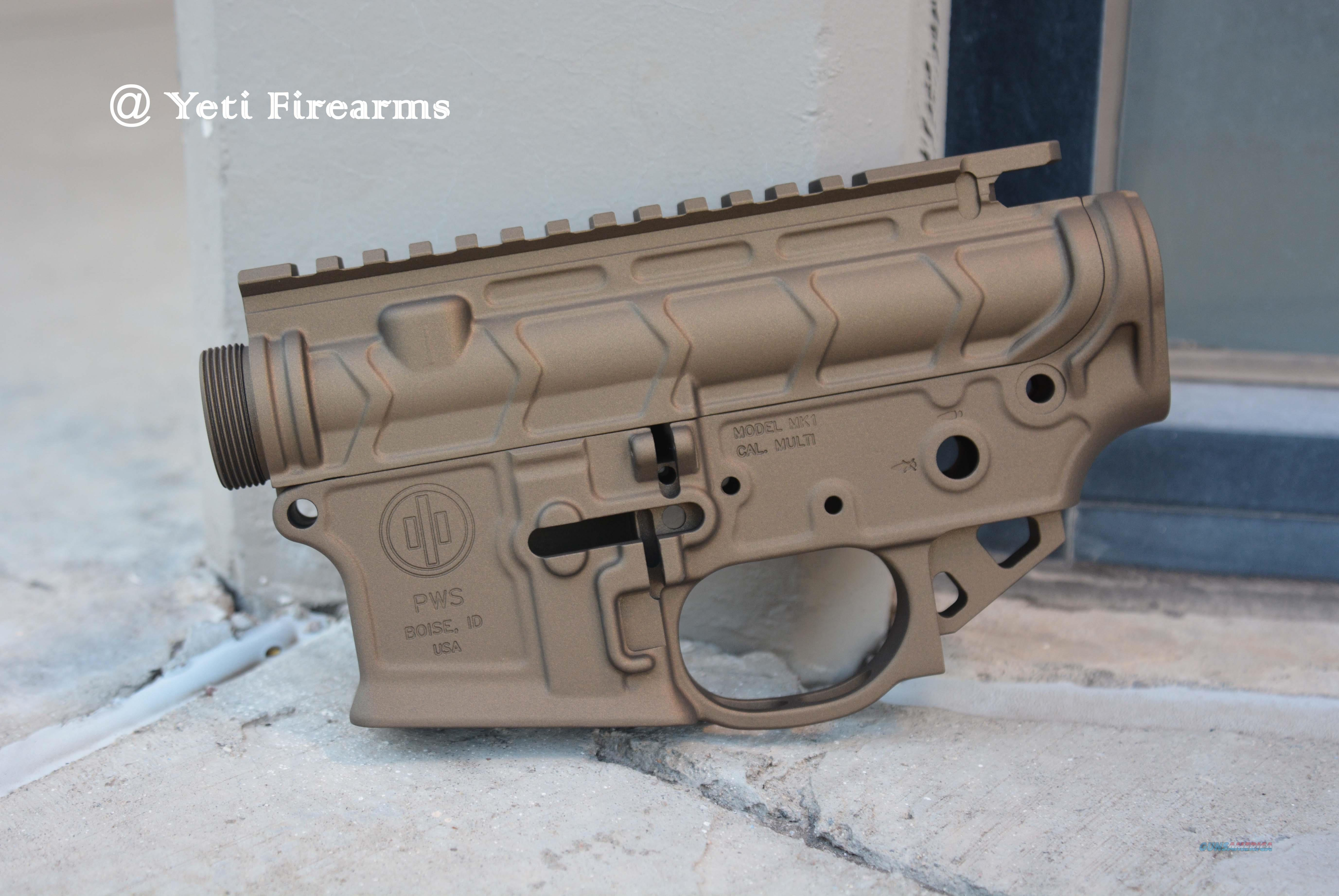 X-Werks PWS MK1 MOD 2 Lower /BL Upper Burnt Bronze  Guns > Rifles > AR-15 Rifles - Small Manufacturers > Lower Only